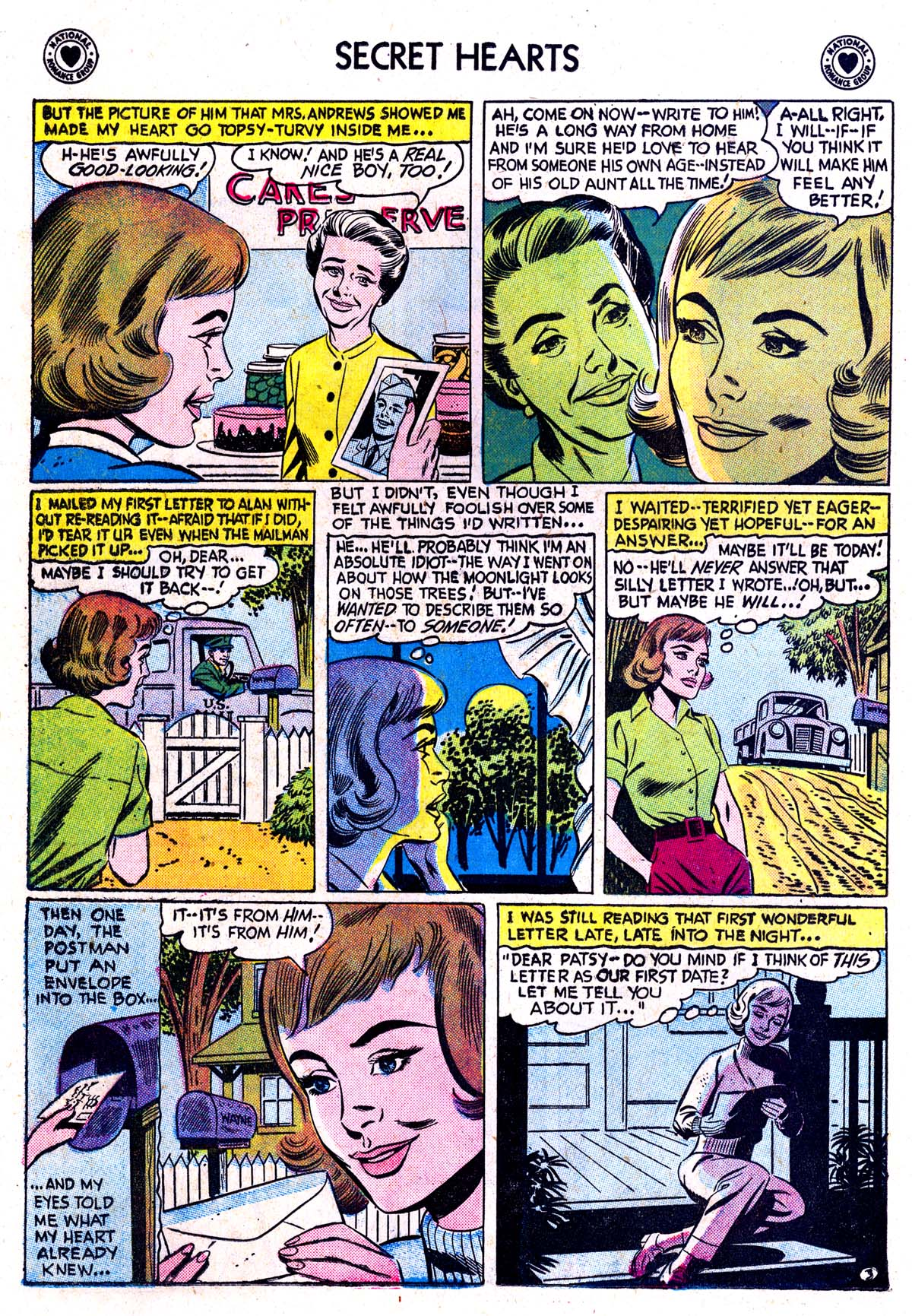 Read online Secret Hearts comic -  Issue #42 - 12