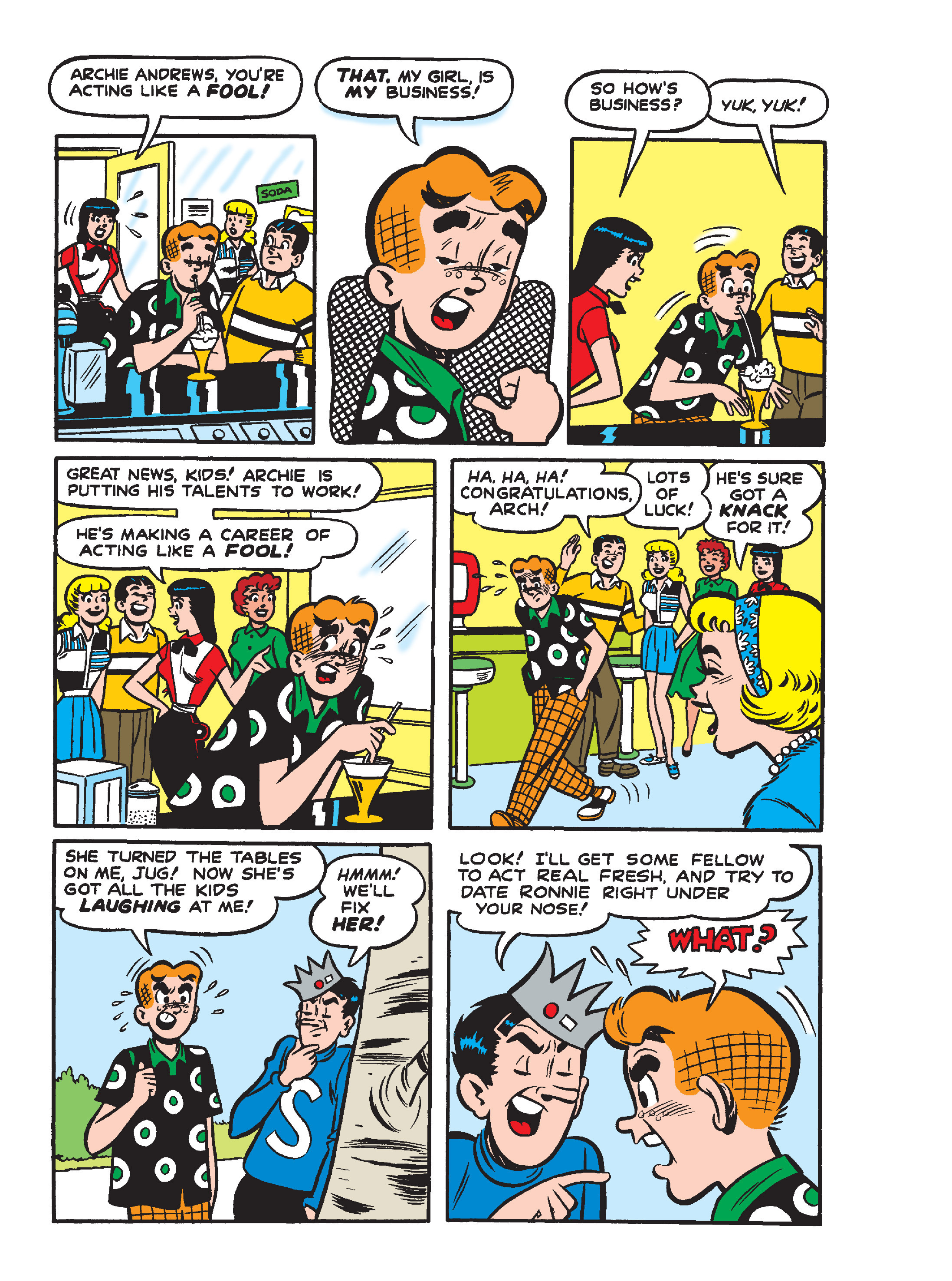 Read online Archie's Funhouse Double Digest comic -  Issue #15 - 133