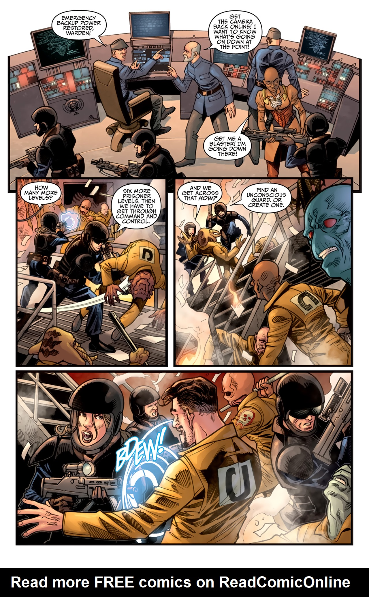Read online Star Wars: Agent Of The Empire - Hard Targets comic -  Issue #3 - 20