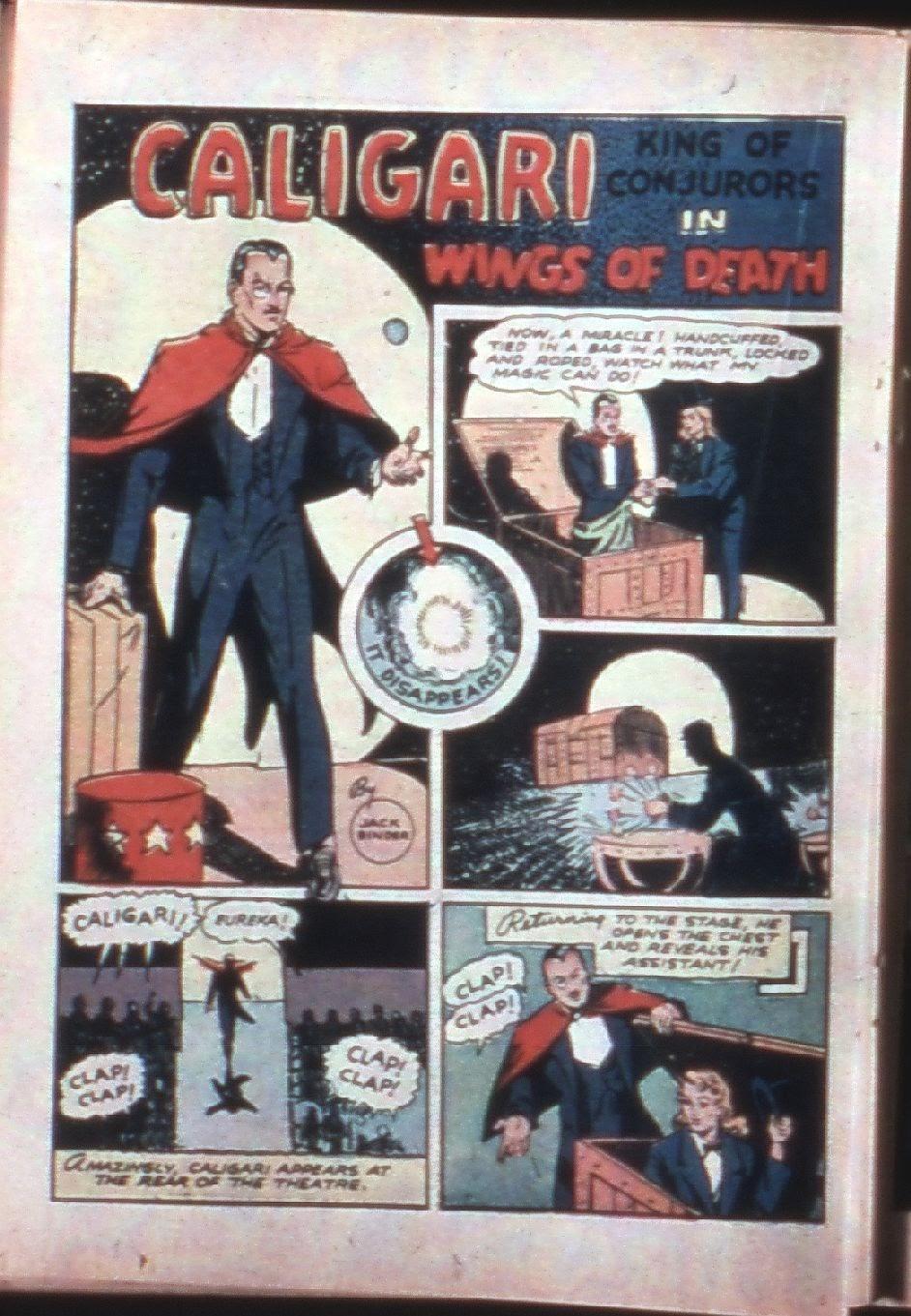 Read online Super-Magician Comics comic -  Issue #7 - 39
