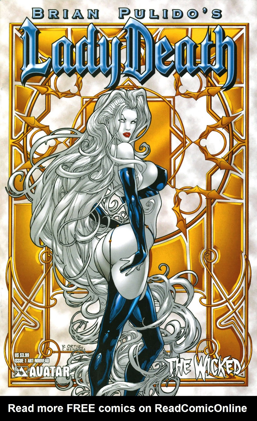 Read online Lady Death: The Wicked comic -  Issue #1 - 4