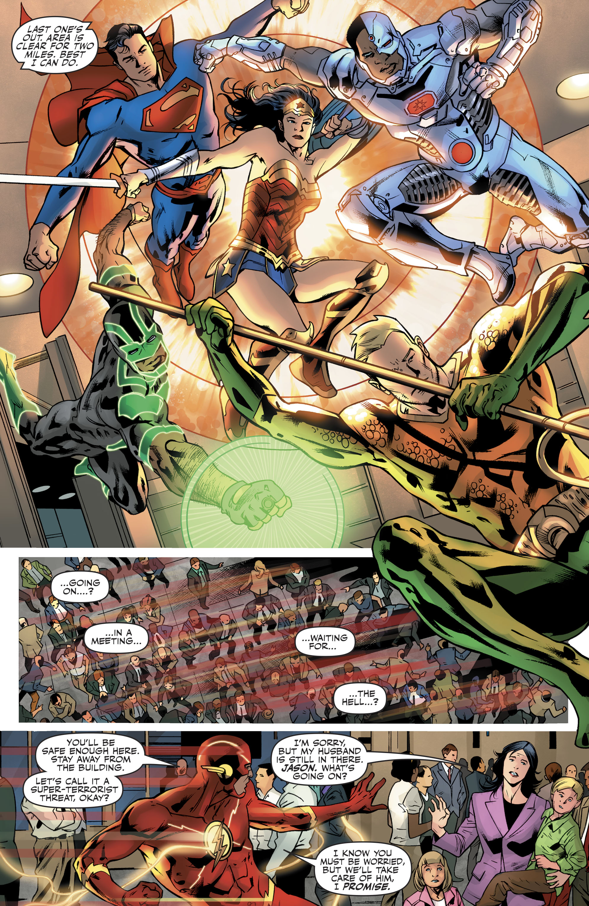 Read online Justice League (2016) comic -  Issue #21 - 17
