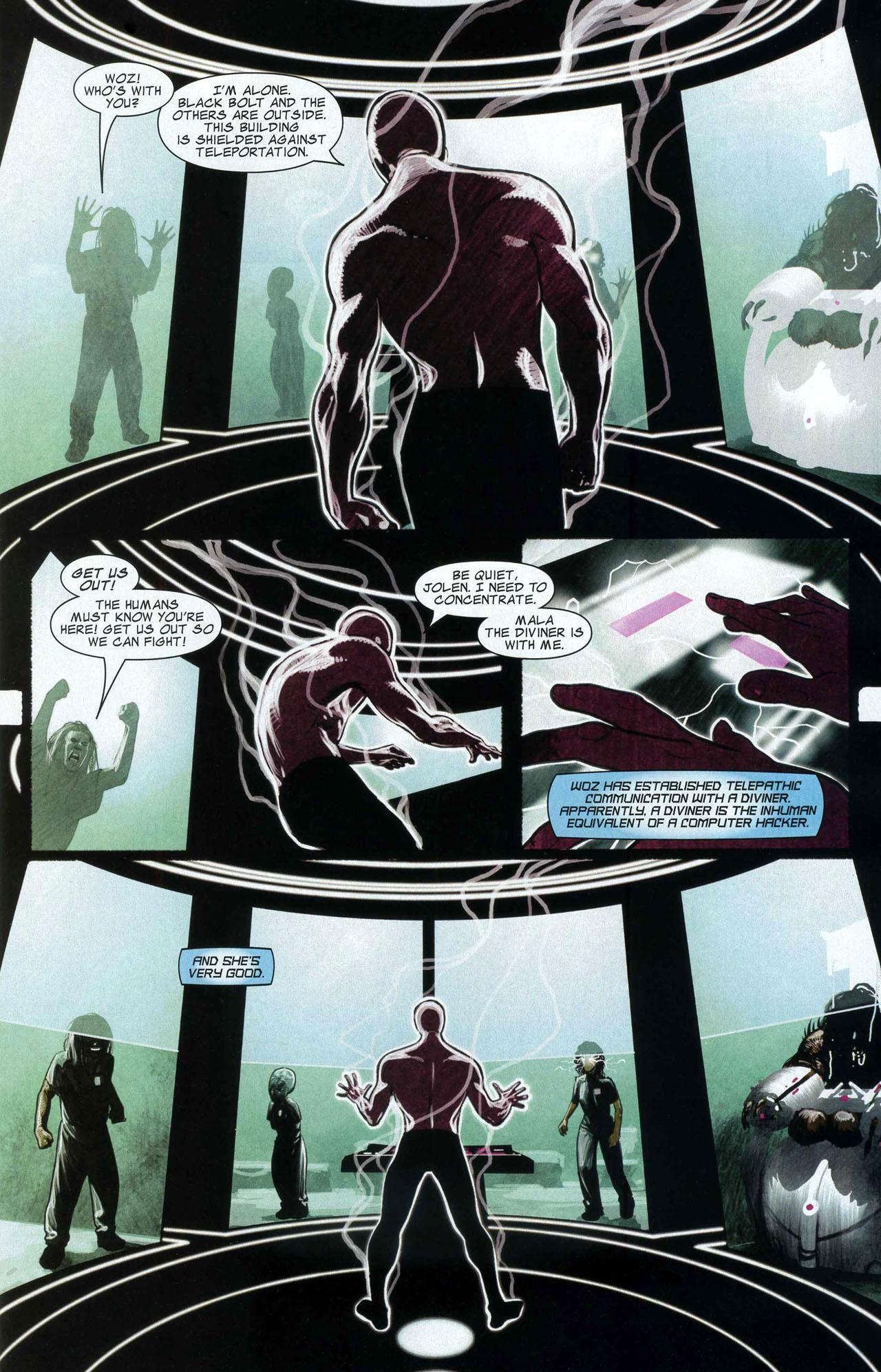 Read online Silent War comic -  Issue #5 - 7