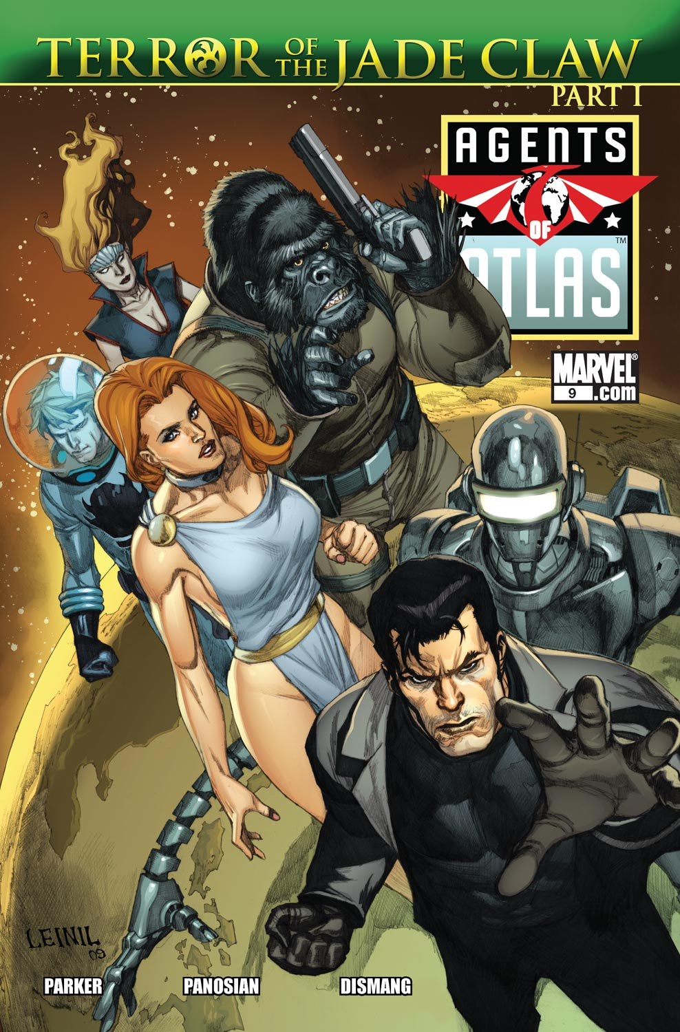 Read online Agents Of Atlas (2009) comic -  Issue #9 - 1