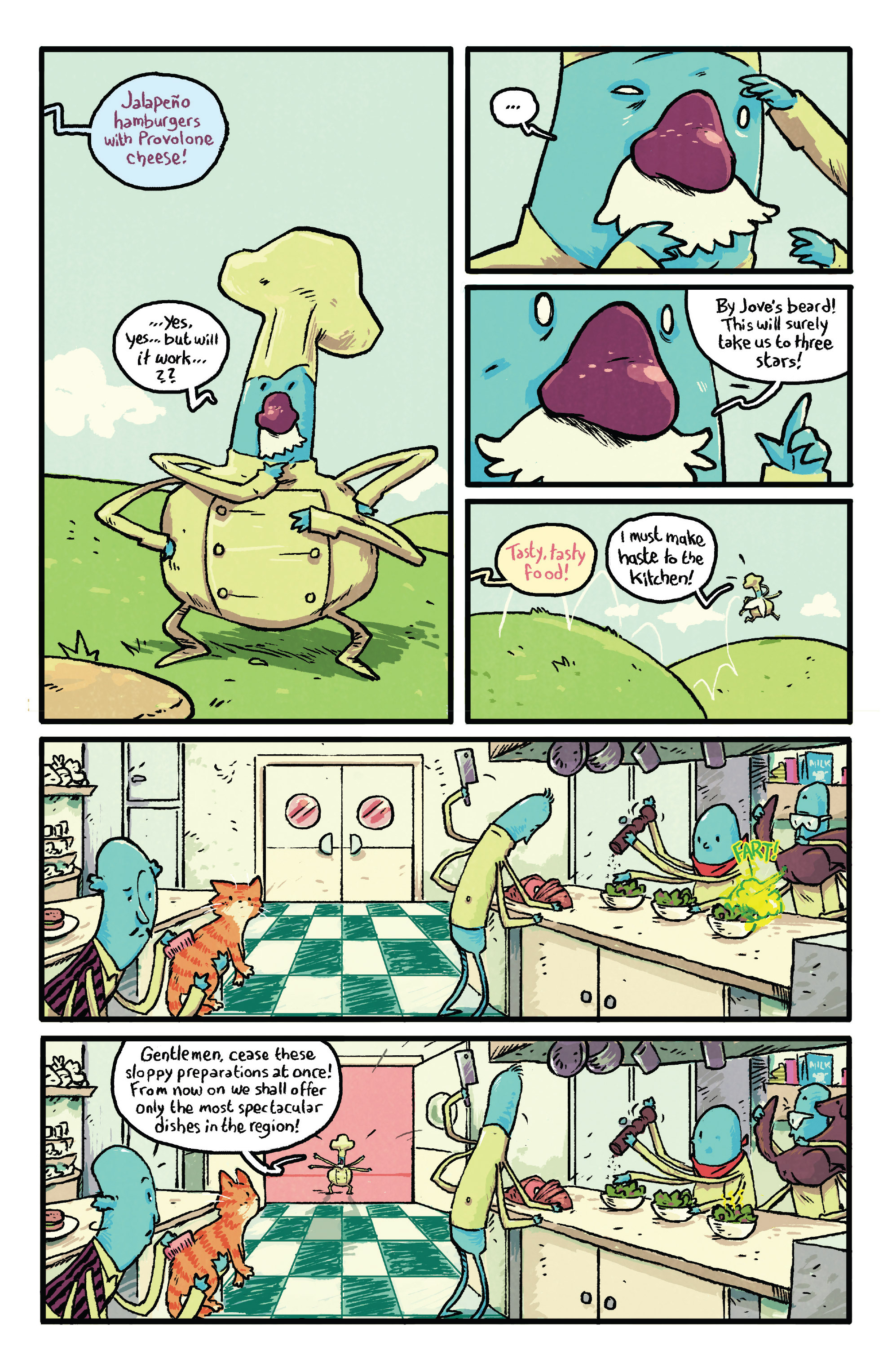 Read online Adventure Time comic -  Issue #29 - 23