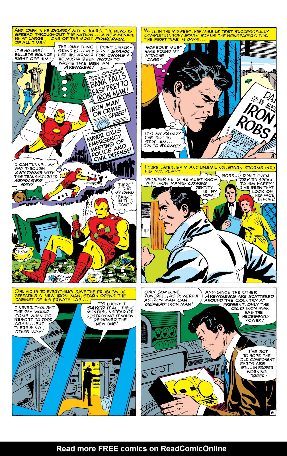 Read online Marvel Masterworks: The Invincible Iron Man comic -  Issue # TPB 2 (Part 3) - 34