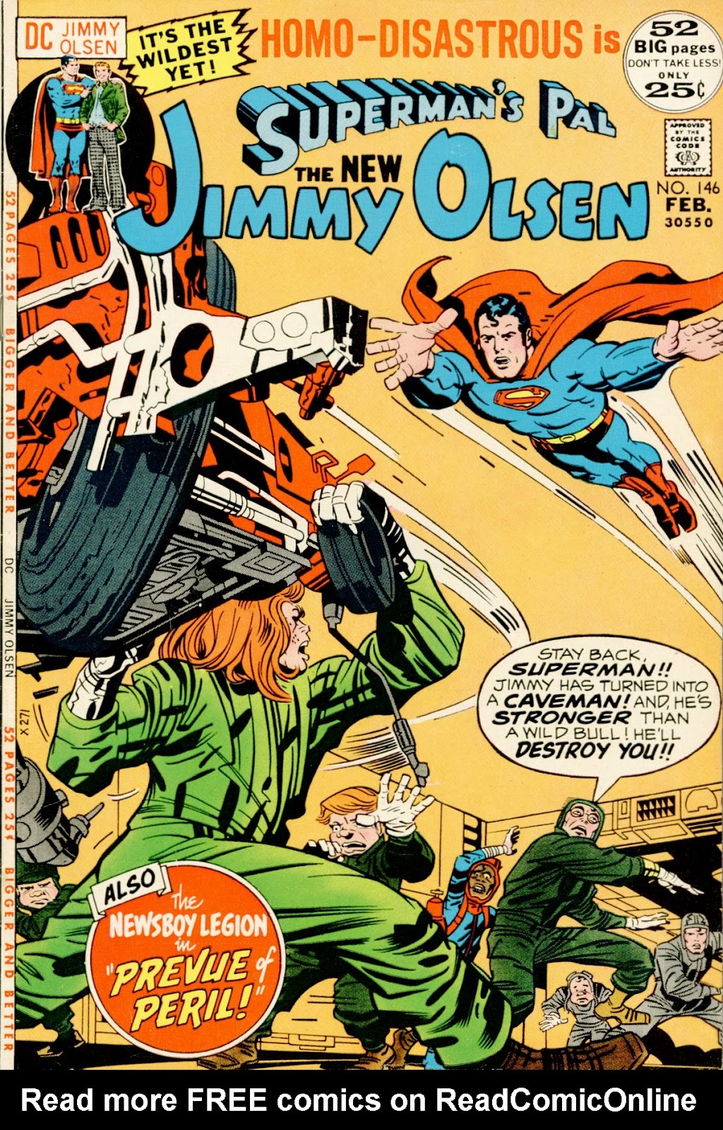 Supermans Pal Jimmy Olsen (1954) 146 Page 1