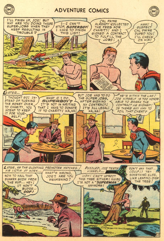 Read online Adventure Comics (1938) comic -  Issue #233 - 12