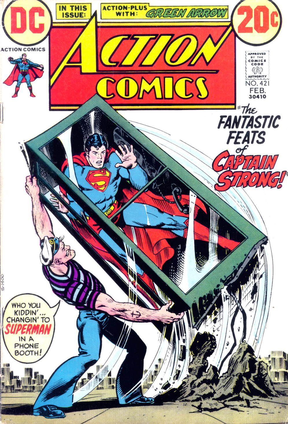 Action Comics (1938) 421 Page 1