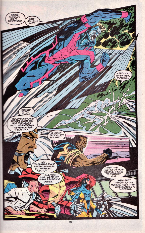 Read online Uncanny X-Men (1963) comic -  Issue # _Annual 16 - 20