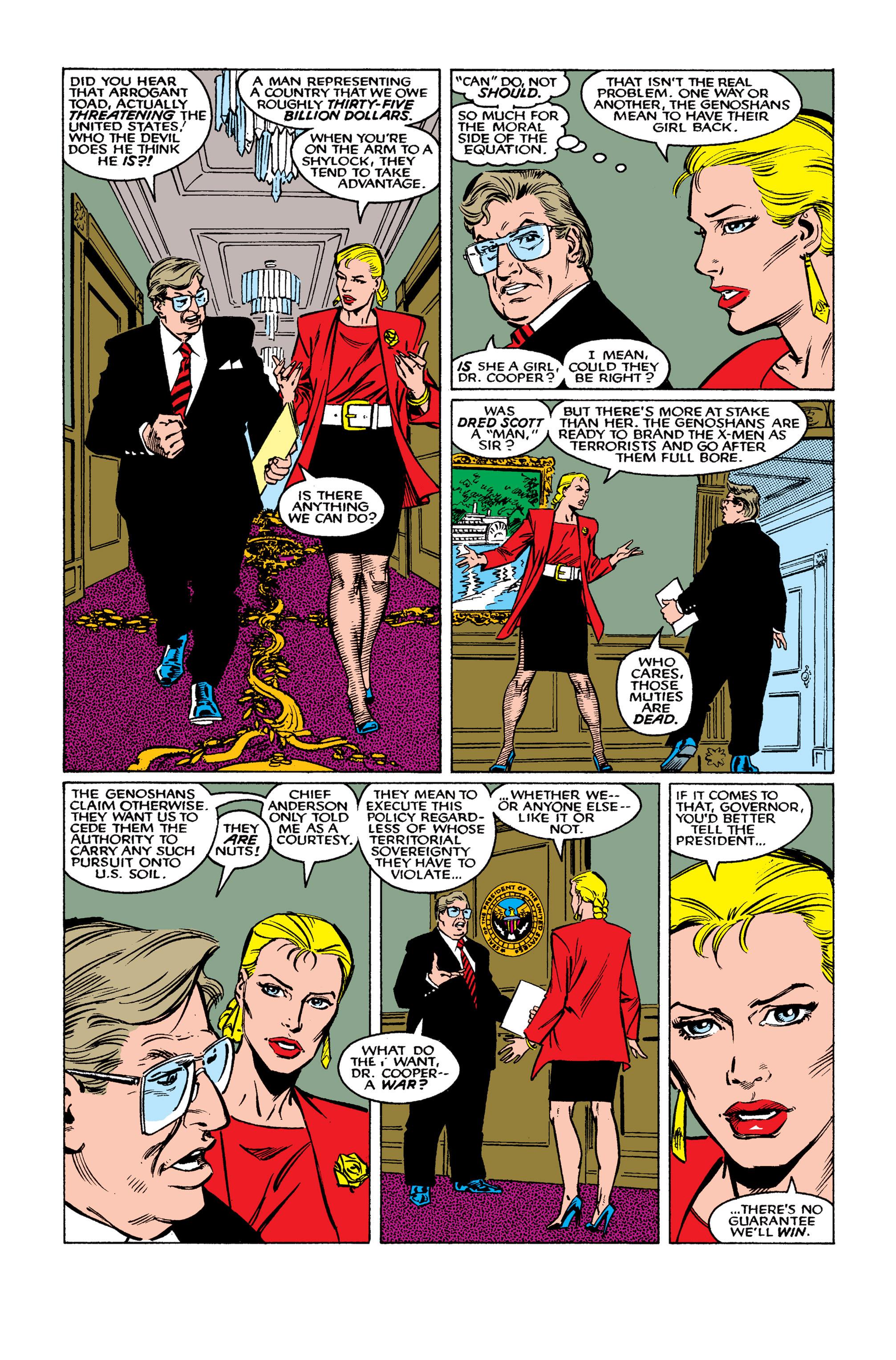 Read online Uncanny X-Men (1963) comic -  Issue #262 - 12