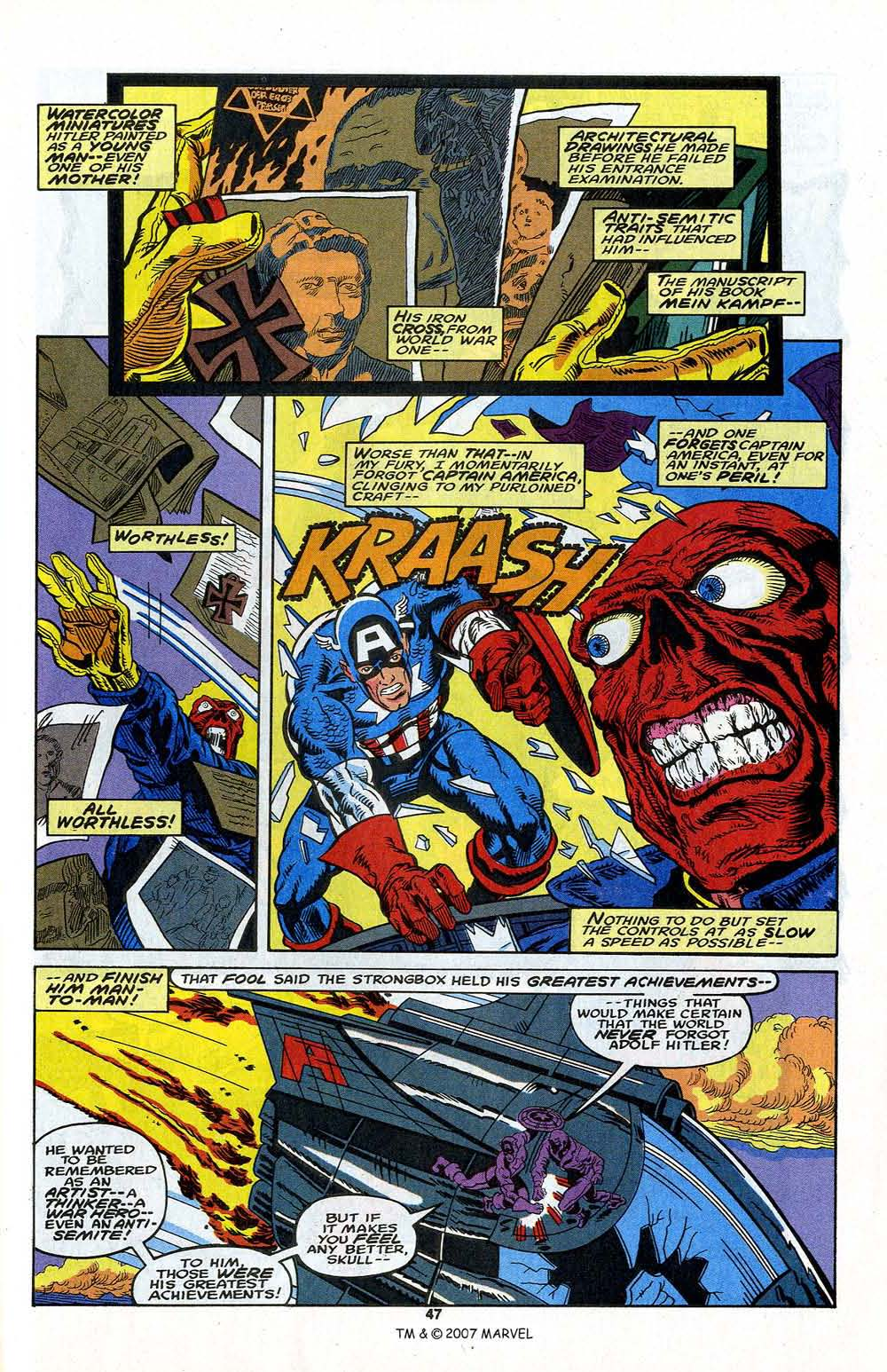 Read online Captain America (1968) comic -  Issue # _Annual 13 - 49