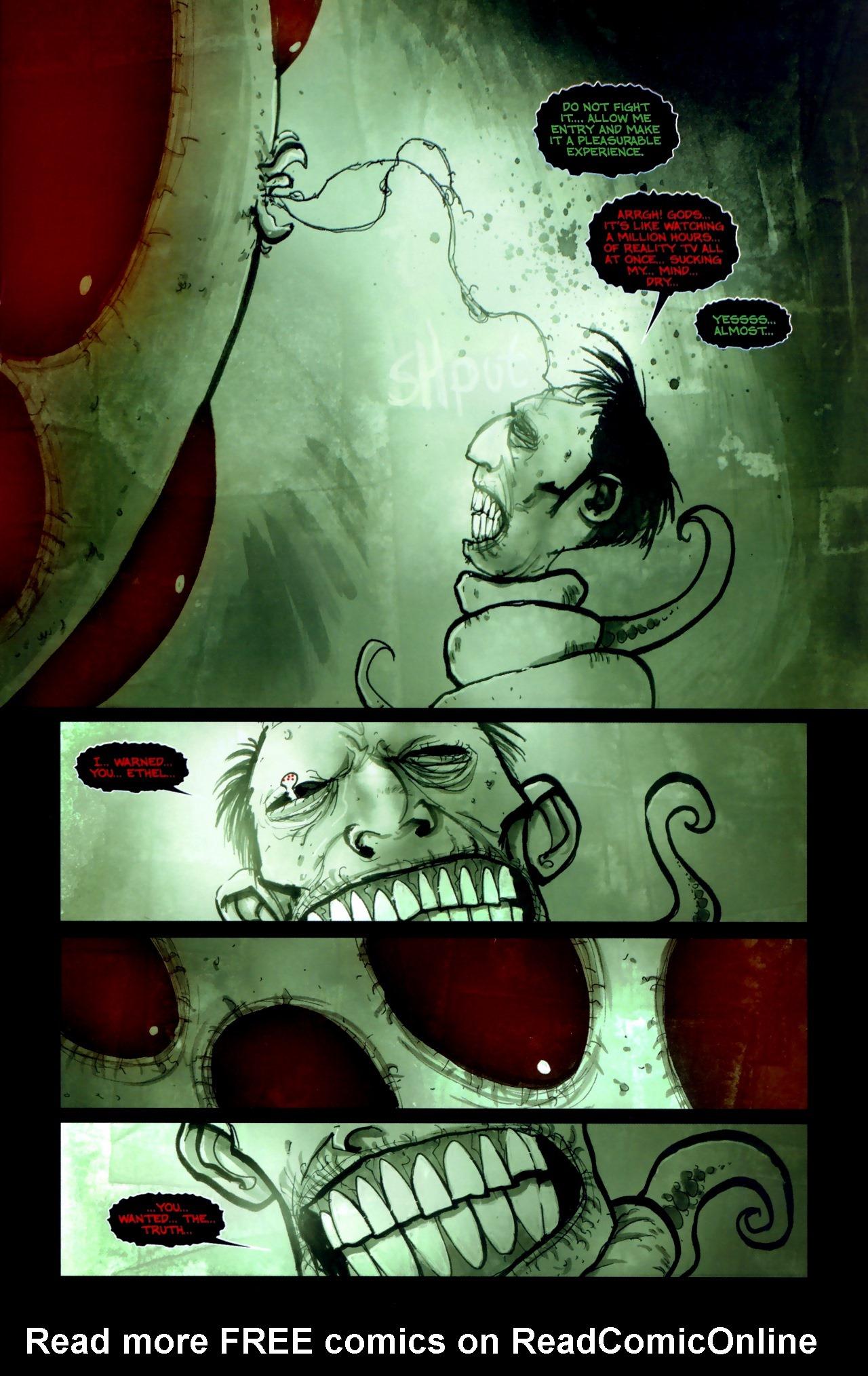 Read online Wormwood: Gentleman Corpse comic -  Issue #11 - 15