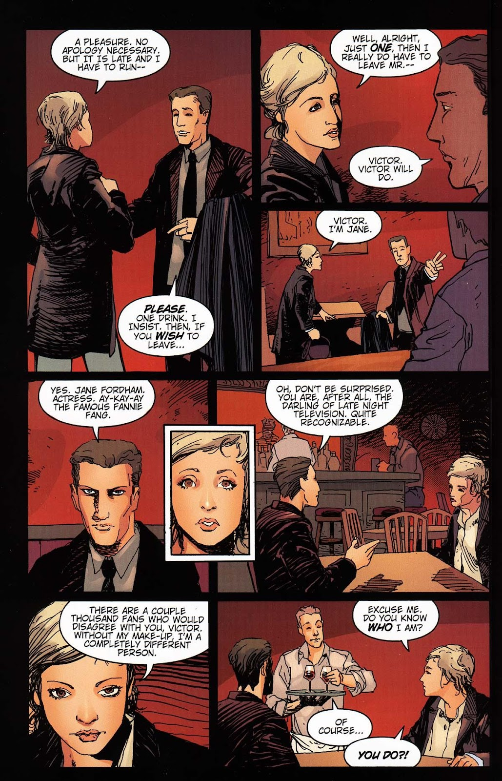 Read online Vampire the Masquerade comic -  Issue # Toreador - 18