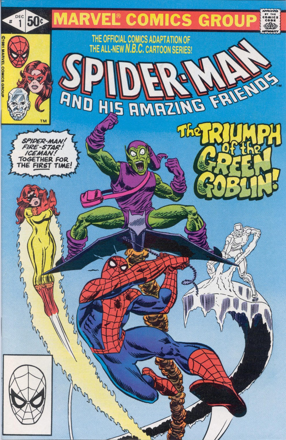 Spider-Man and His Amazing Friends Full Page 1