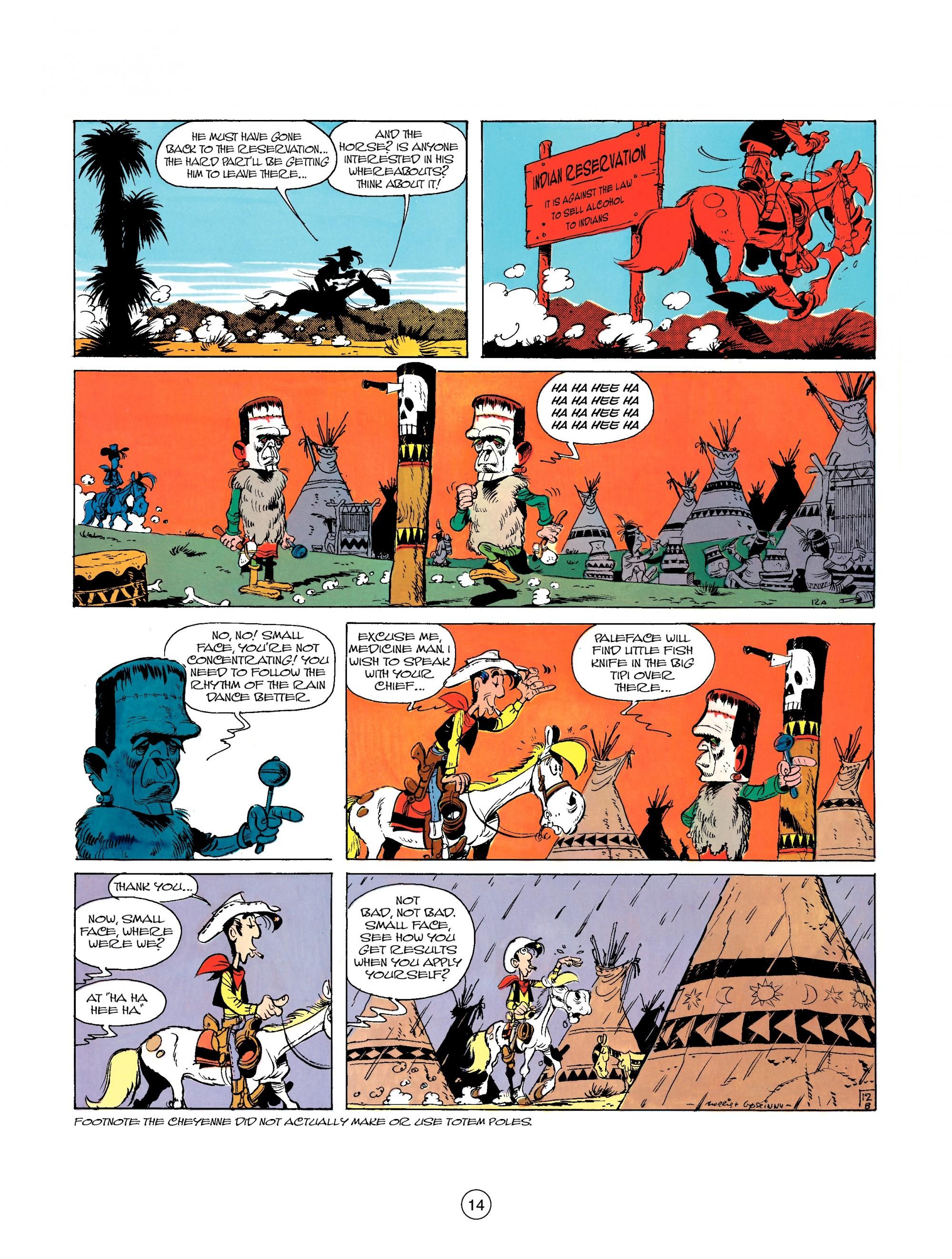 Read online A Lucky Luke Adventure comic -  Issue #26 - 14