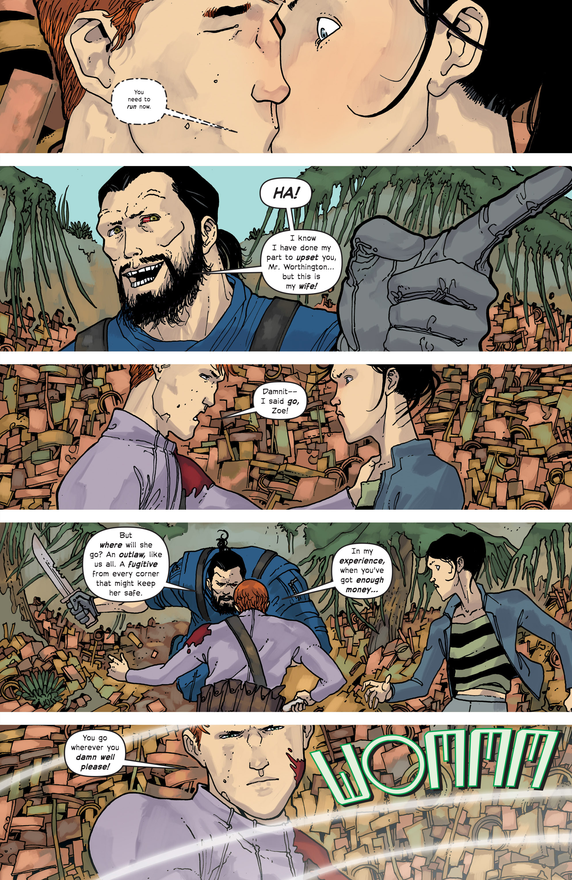 Read online Great Pacific comic -  Issue #18 - 8