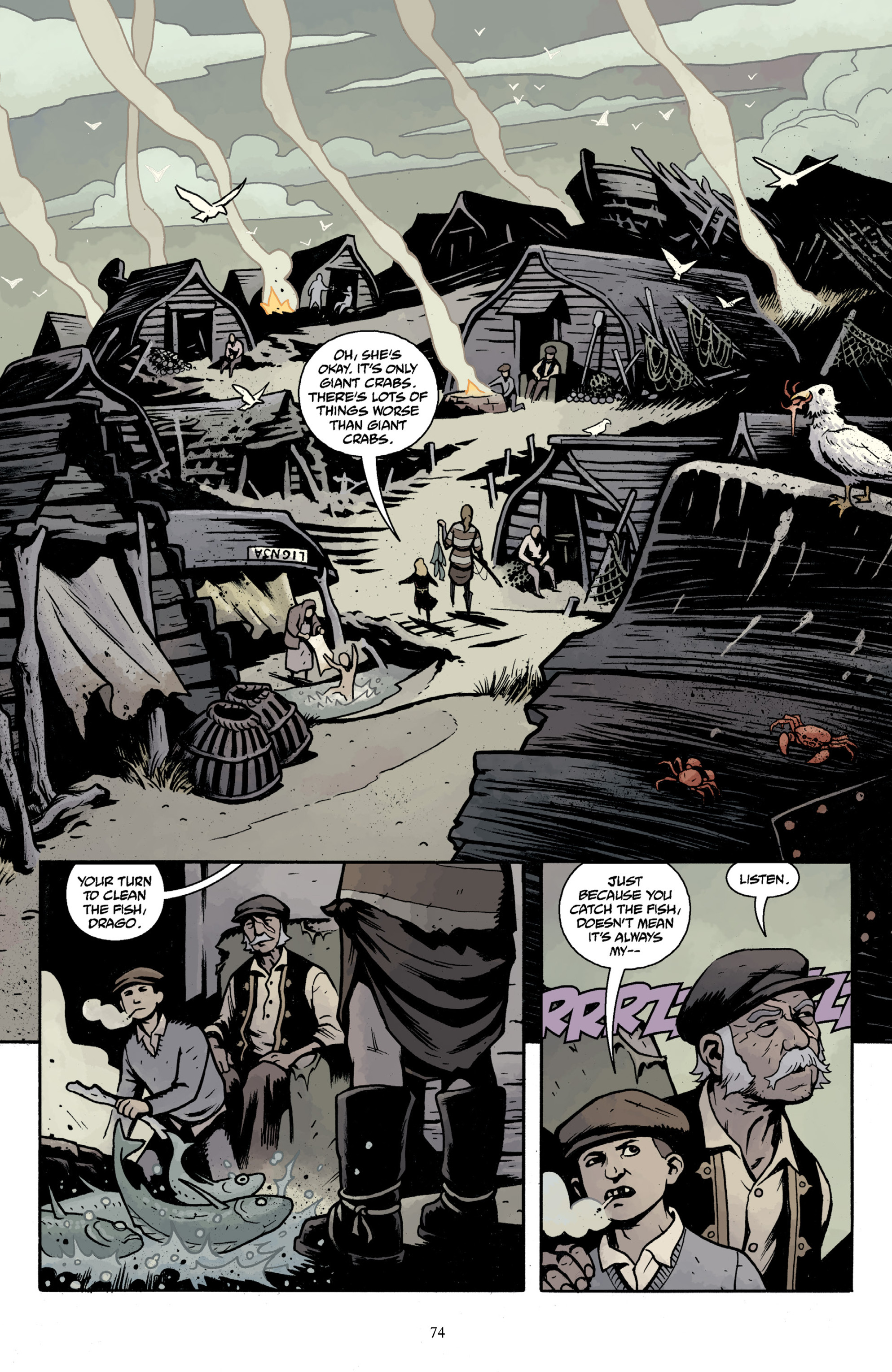 Read online Baltimore Volume 3: A Passing Stranger and Other Stories comic -  Issue # Full - 76