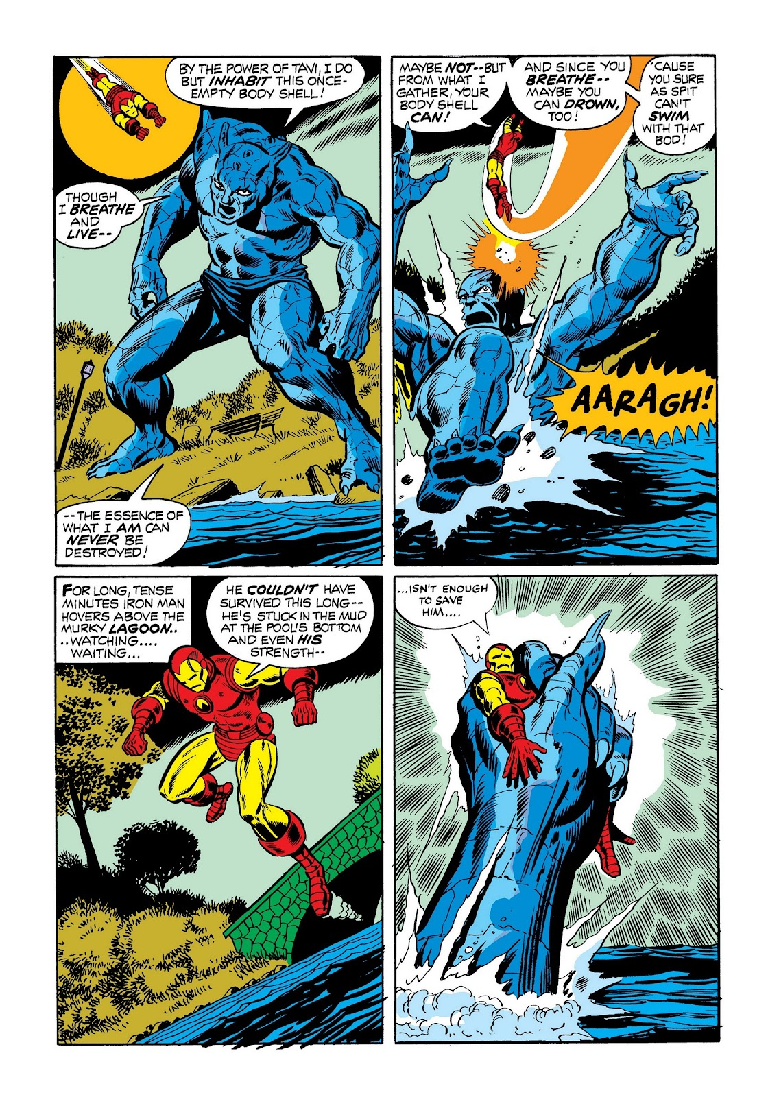 Read online Marvel Masterworks: The Invincible Iron Man comic -  Issue # TPB 9 (Part 1) - 64