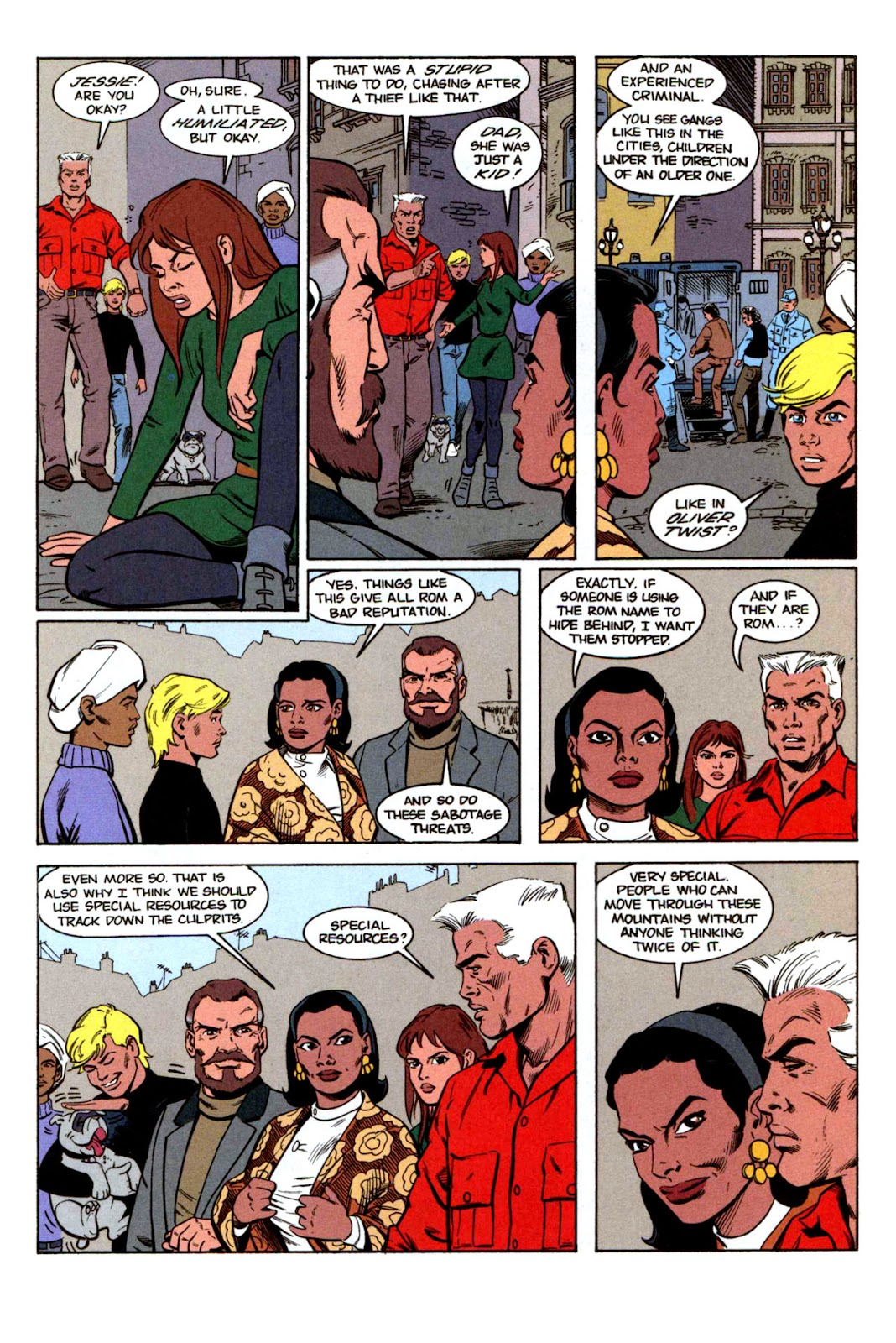 Read online The Real Adventures of Jonny Quest comic -  Issue #1 - 15