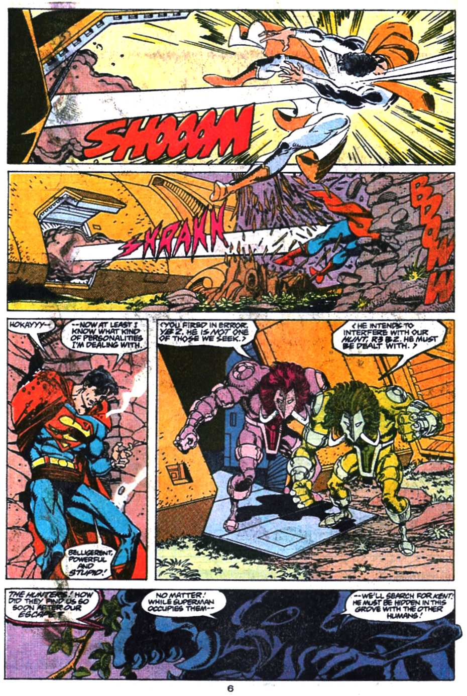 Read online Adventures of Superman (1987) comic -  Issue #469 - 7