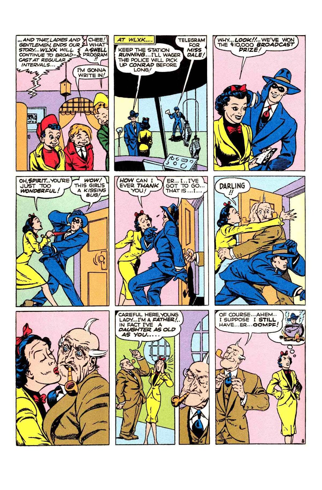 Read online Will Eisner's The Spirit Archives comic -  Issue # TPB 2 (Part 1) - 56