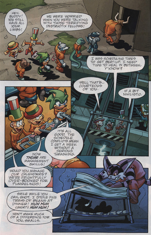 Read online Sonic Universe comic -  Issue #30 - 22