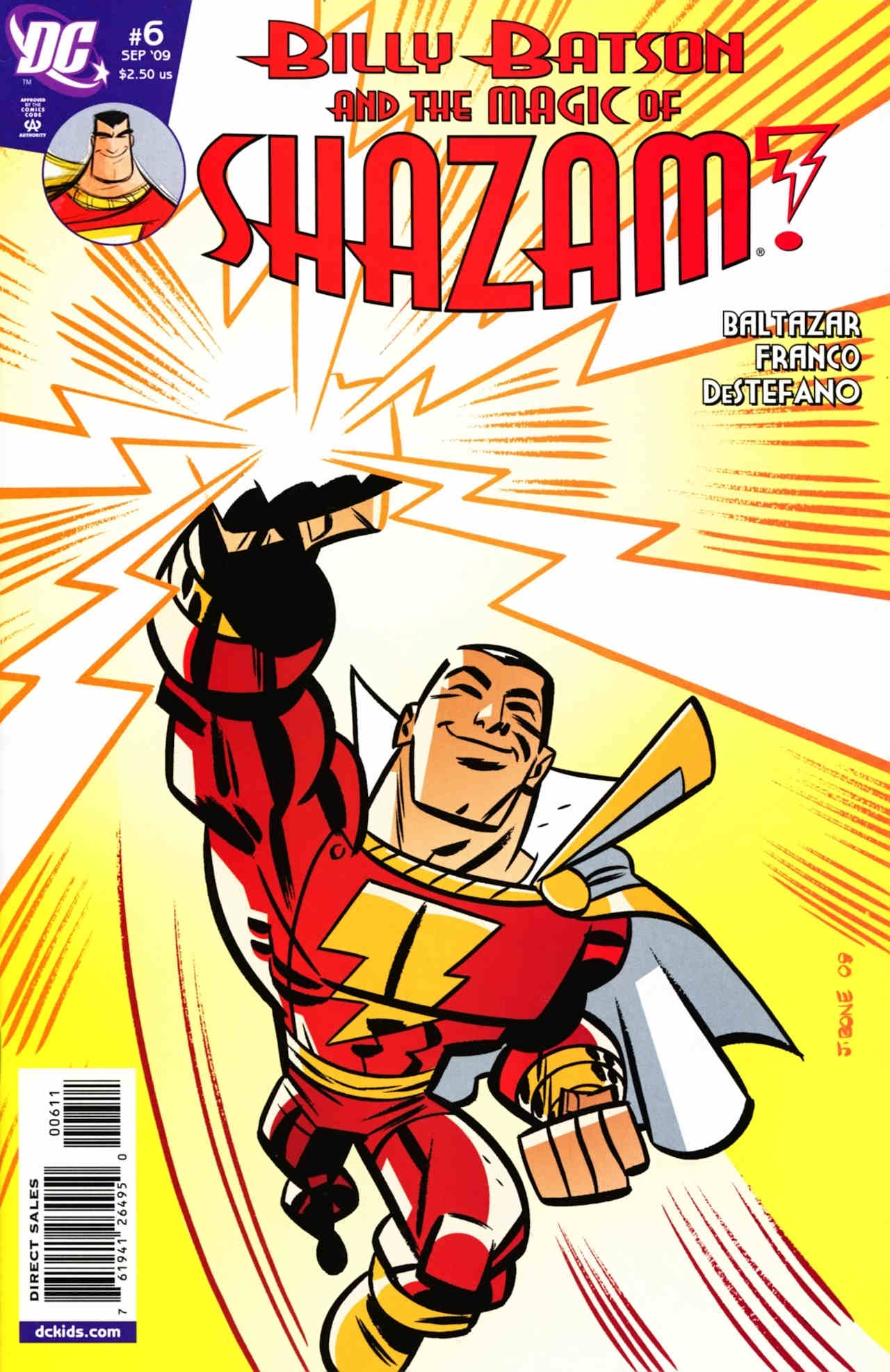 Billy Batson & The Magic of Shazam! 6 Page 1