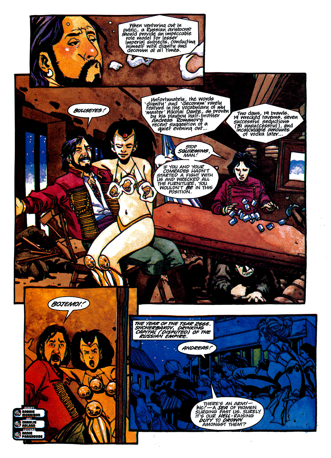 Read online Nikolai Dante comic -  Issue # TPB 1 - 125