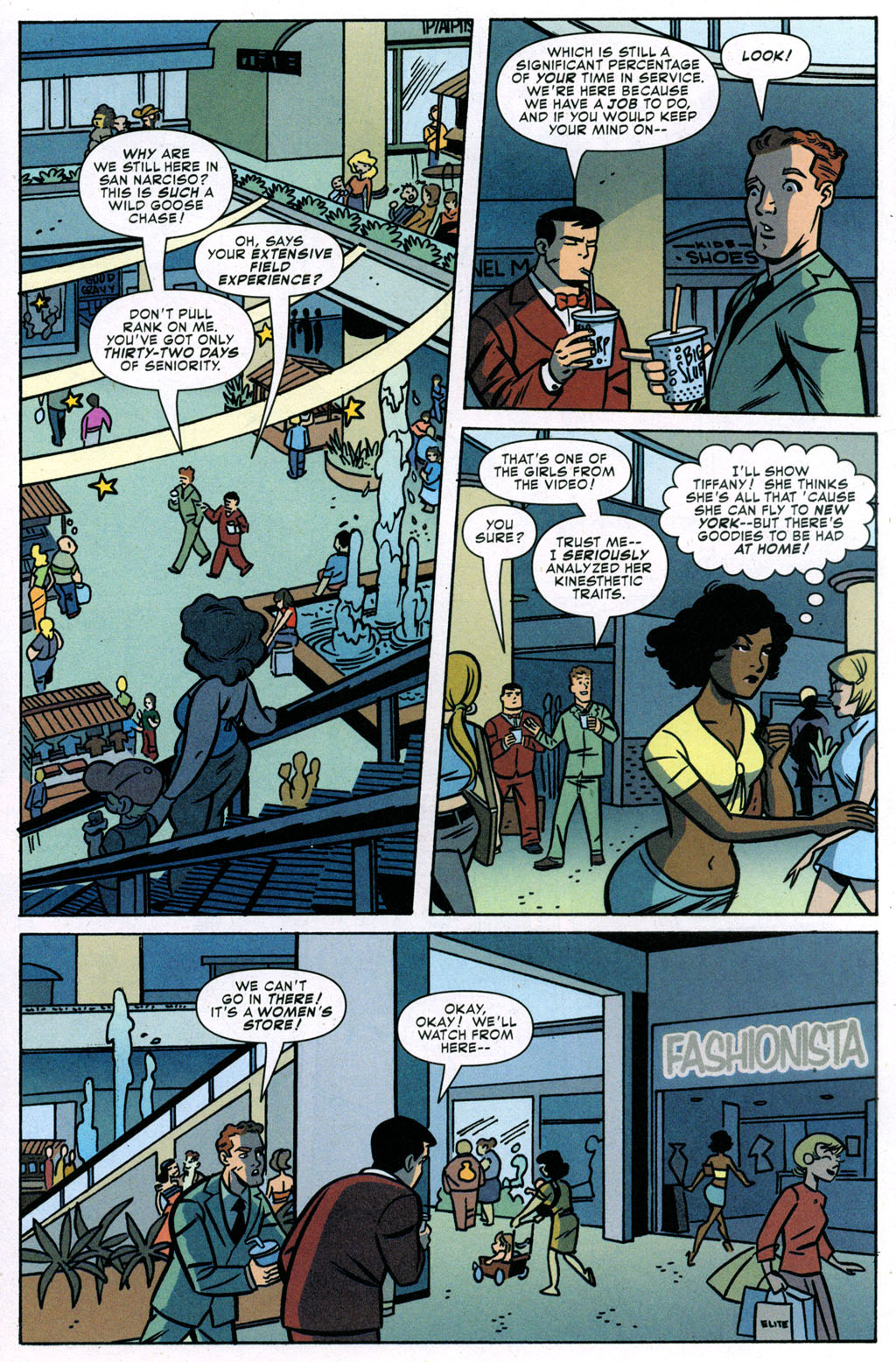 Read online Bad Girls comic -  Issue #3 - 19
