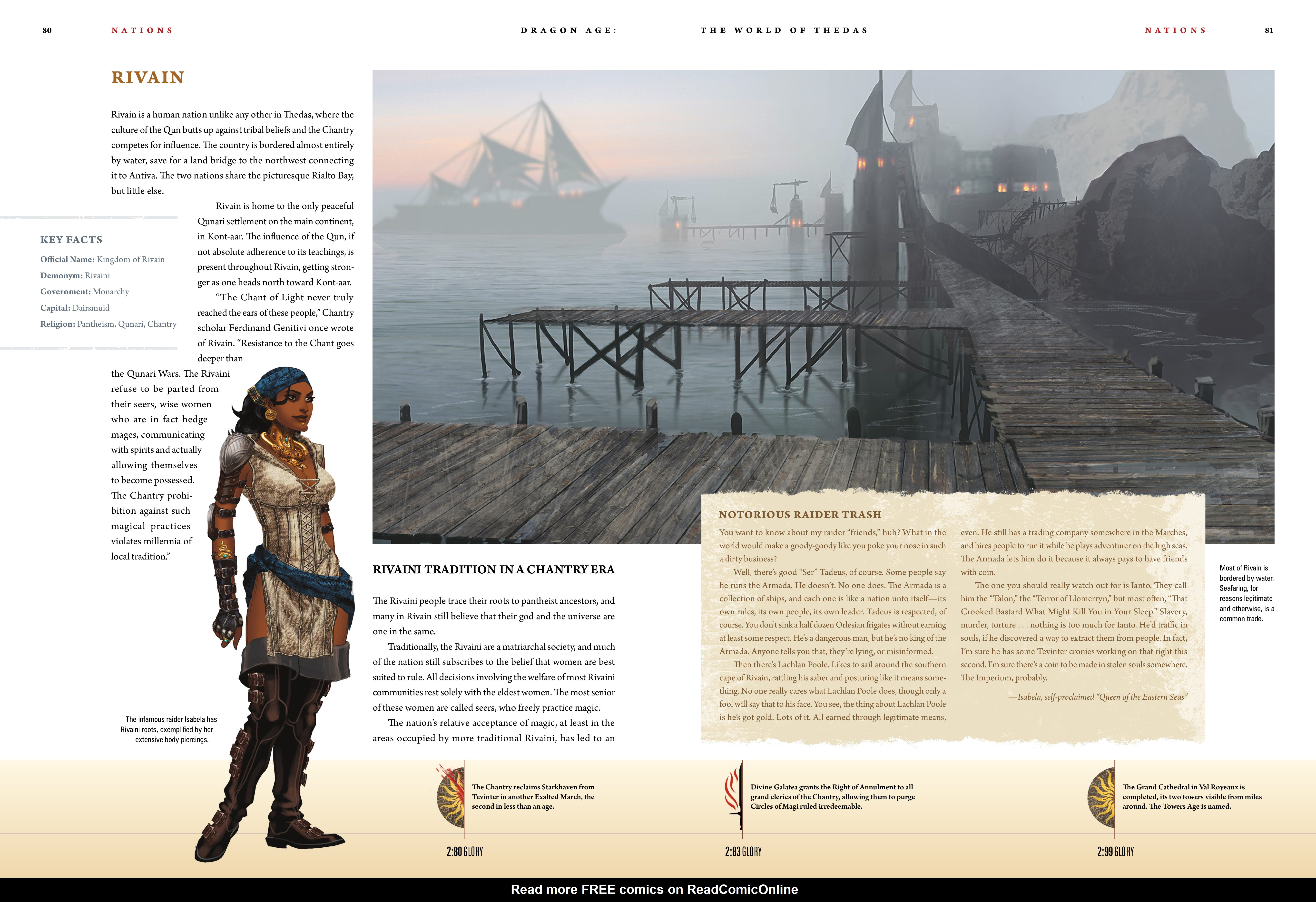 Read online Dragon Age: The World of Thedas comic -  Issue # TPB 1 - 65