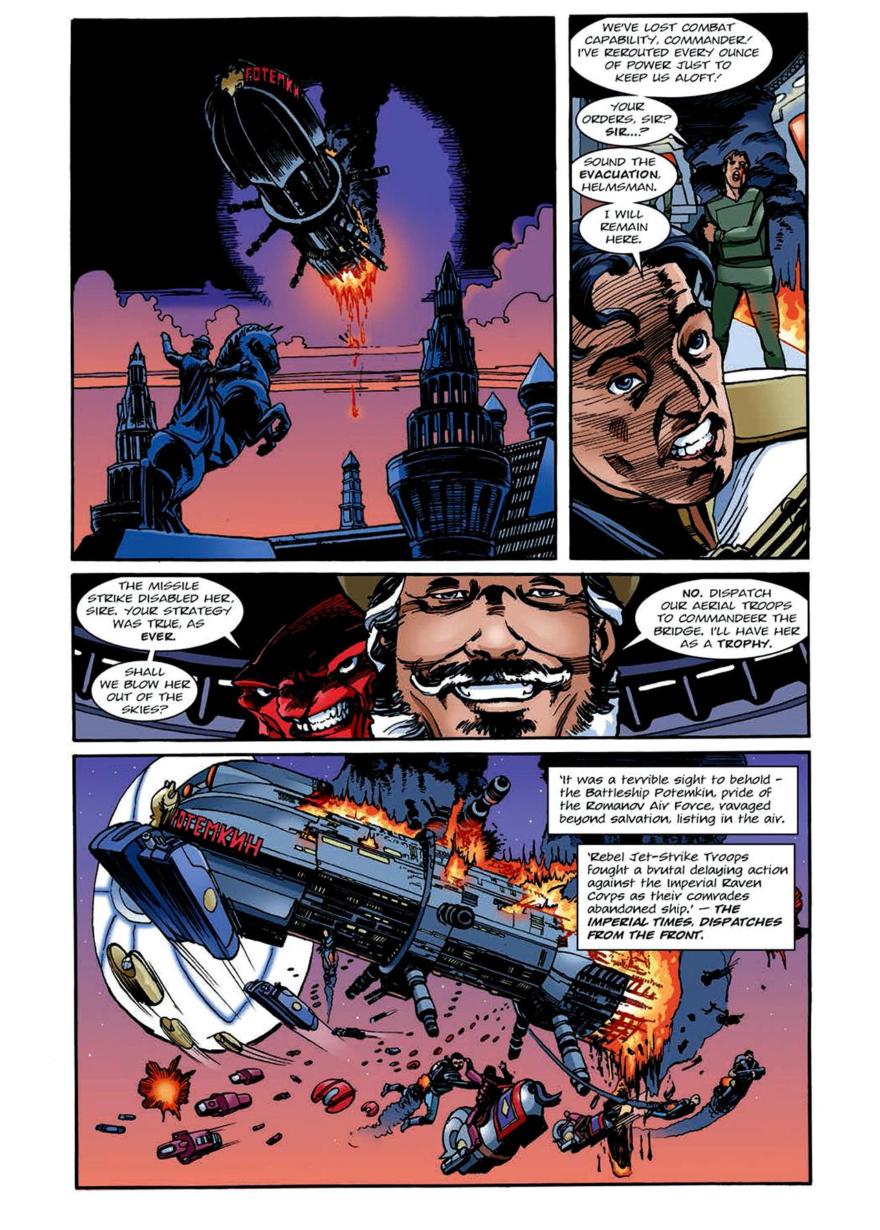 Read online Nikolai Dante comic -  Issue # TPB 4 - 144
