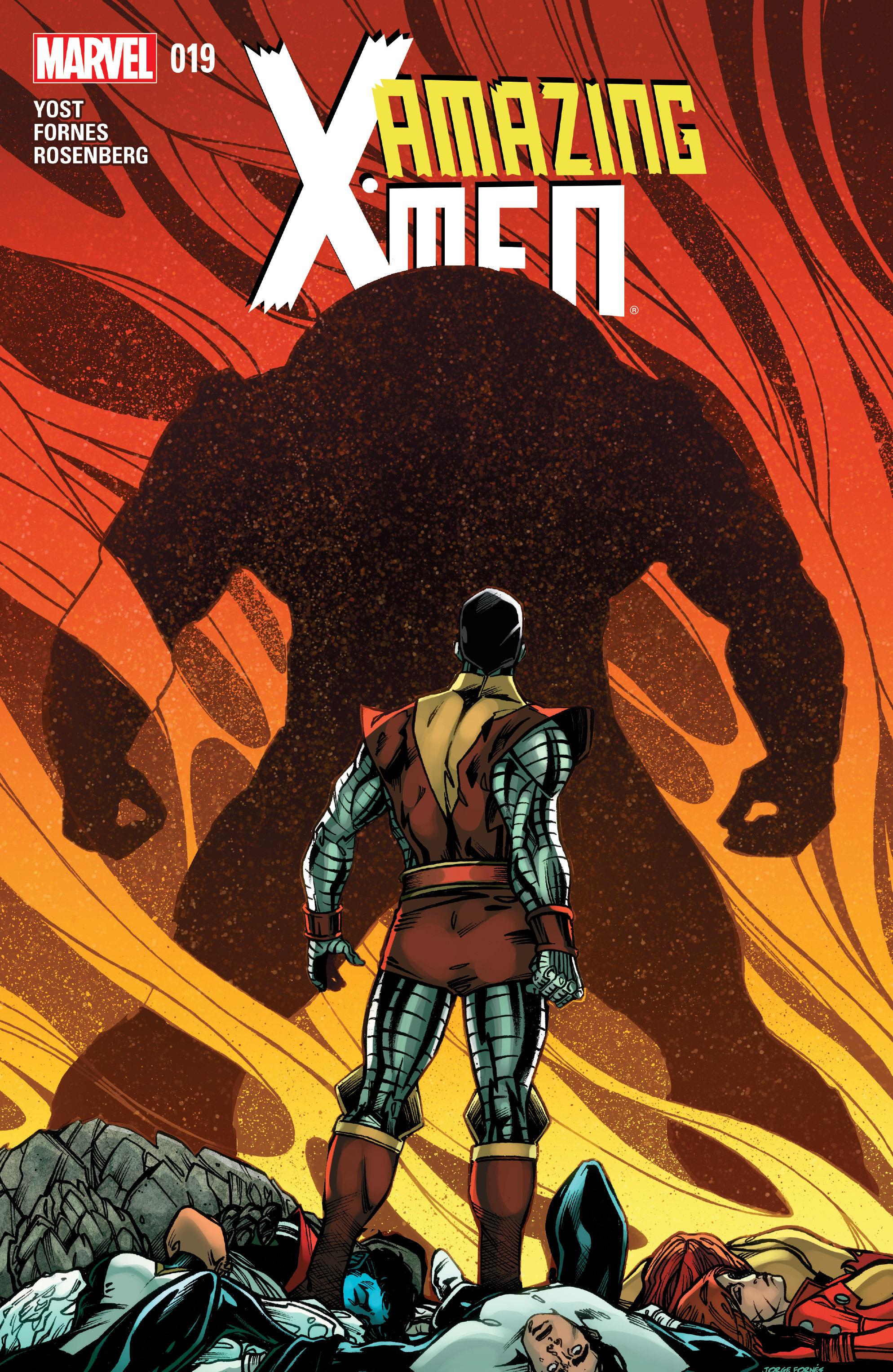 Read online Amazing X-Men (2014) comic -  Issue #19 - 1