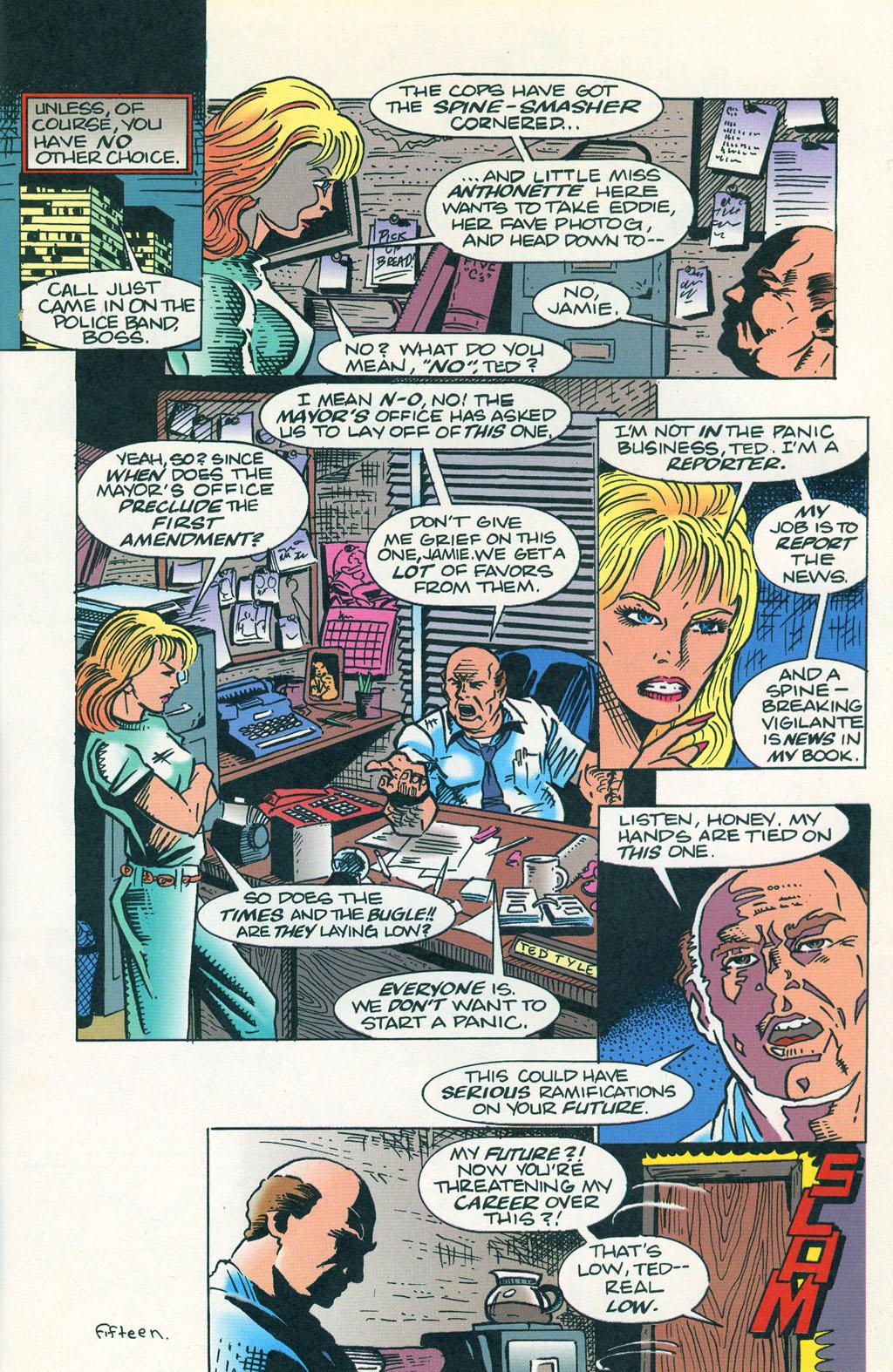 Read online ShadowHawk comic -  Issue #1 - 19