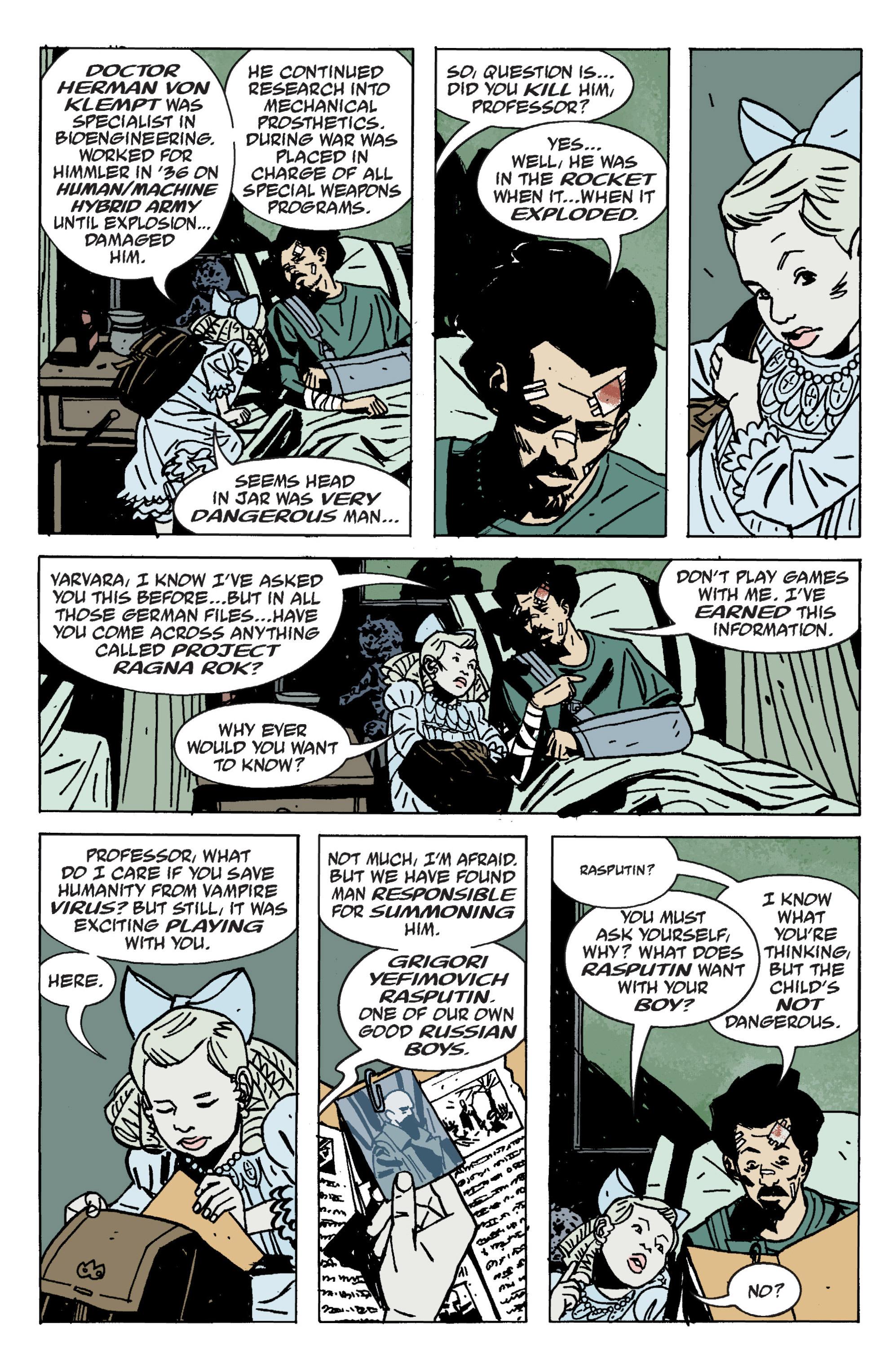 Read online B.P.R.D. (2003) comic -  Issue # TPB 9 - 134