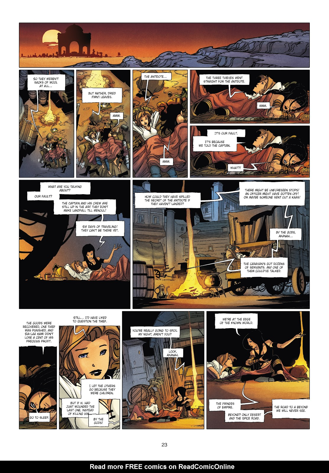 Read online Chronicles of the Dragon Knights comic -  Issue #19 - 23