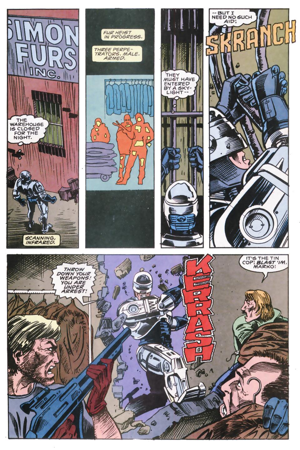 Read online Robocop (1990) comic -  Issue #9 - 15