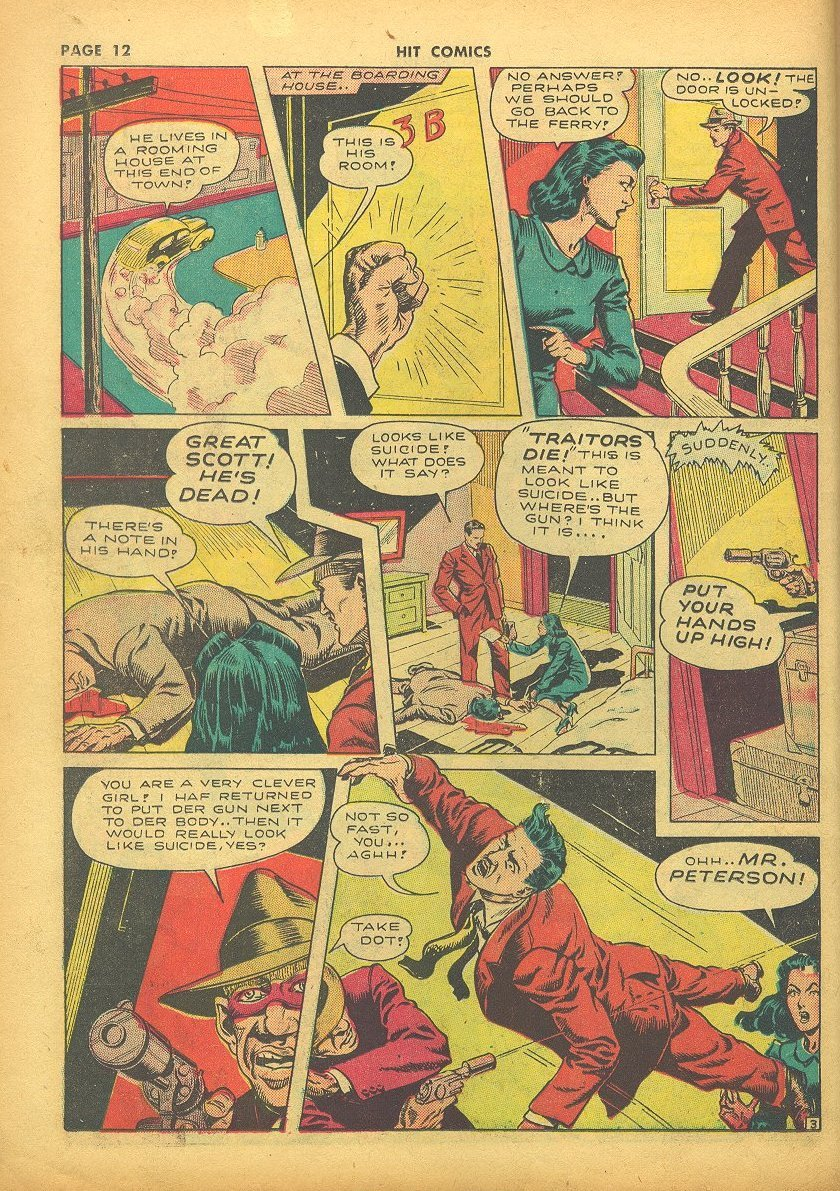 Read online Hit Comics comic -  Issue #24 - 14
