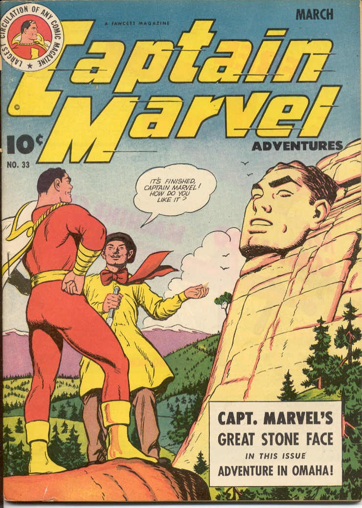 Captain Marvel Adventures issue 33 - Page 1