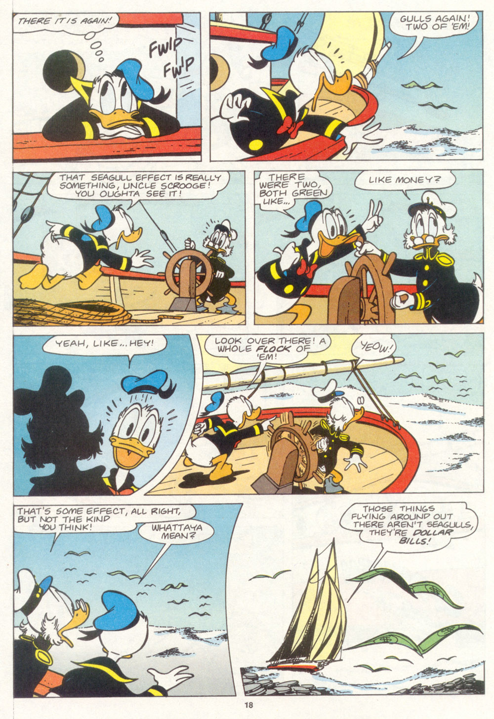 Read online Uncle Scrooge (1953) comic -  Issue #266 - 20