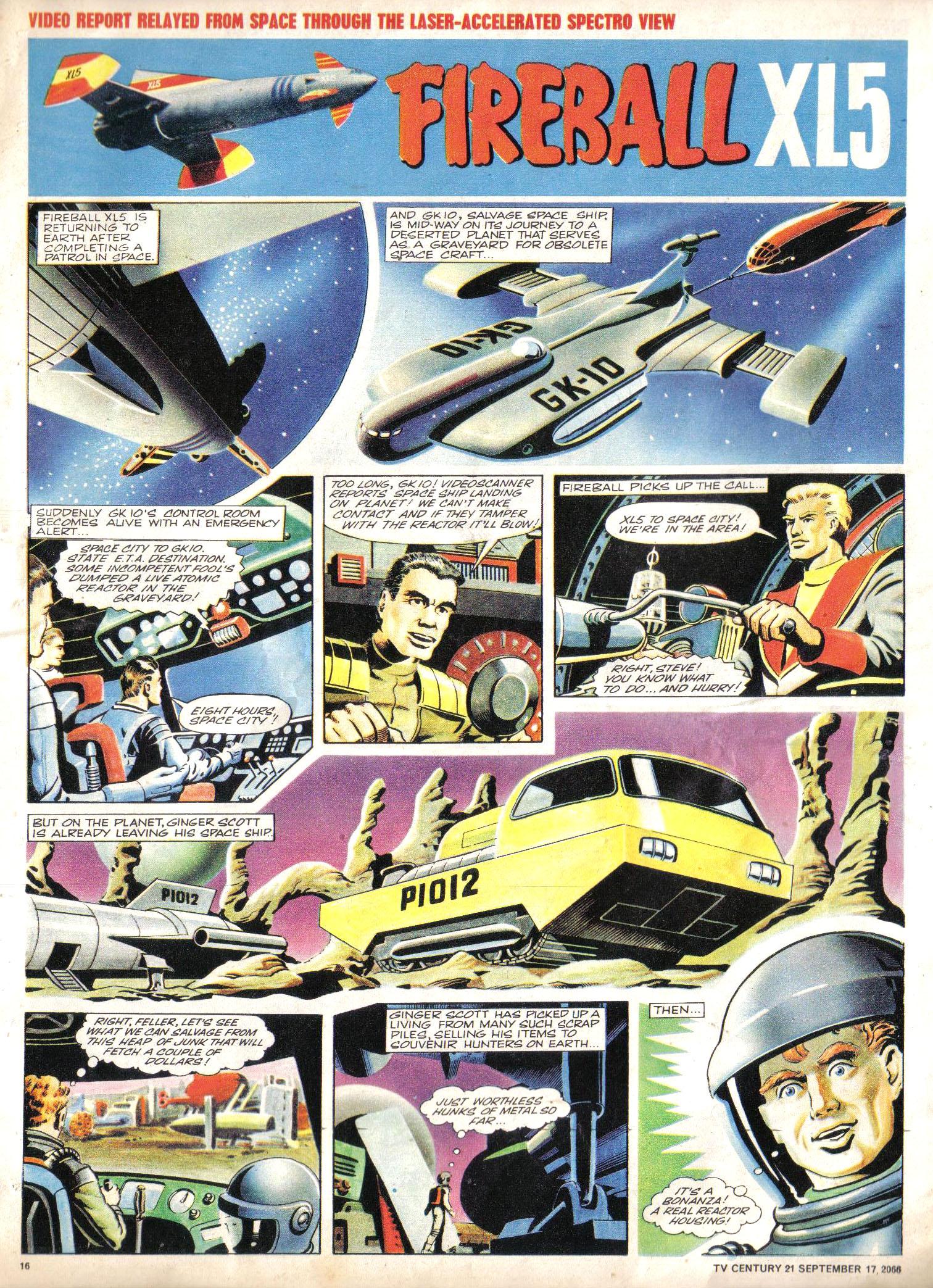 Read online TV Century 21 (TV 21) comic -  Issue #87 - 15