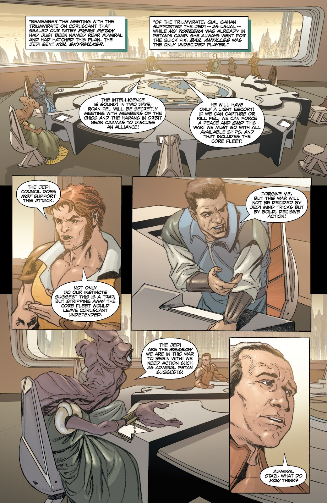 Read online Star Wars Legends: Legacy - Epic Collection comic -  Issue # TPB 2 (Part 1) - 21