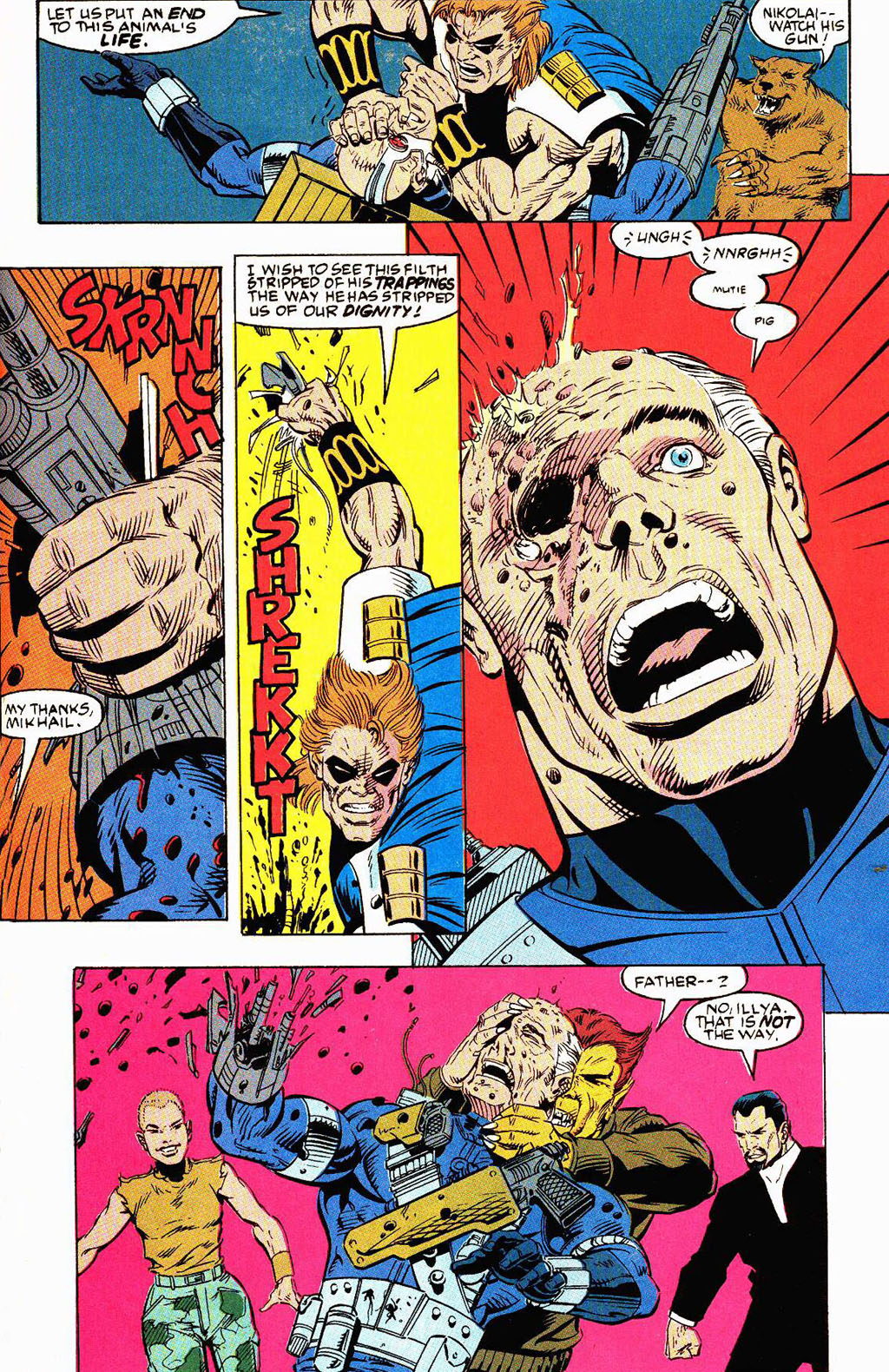 Read online Soviet Super Soldiers comic -  Issue # Full - 52