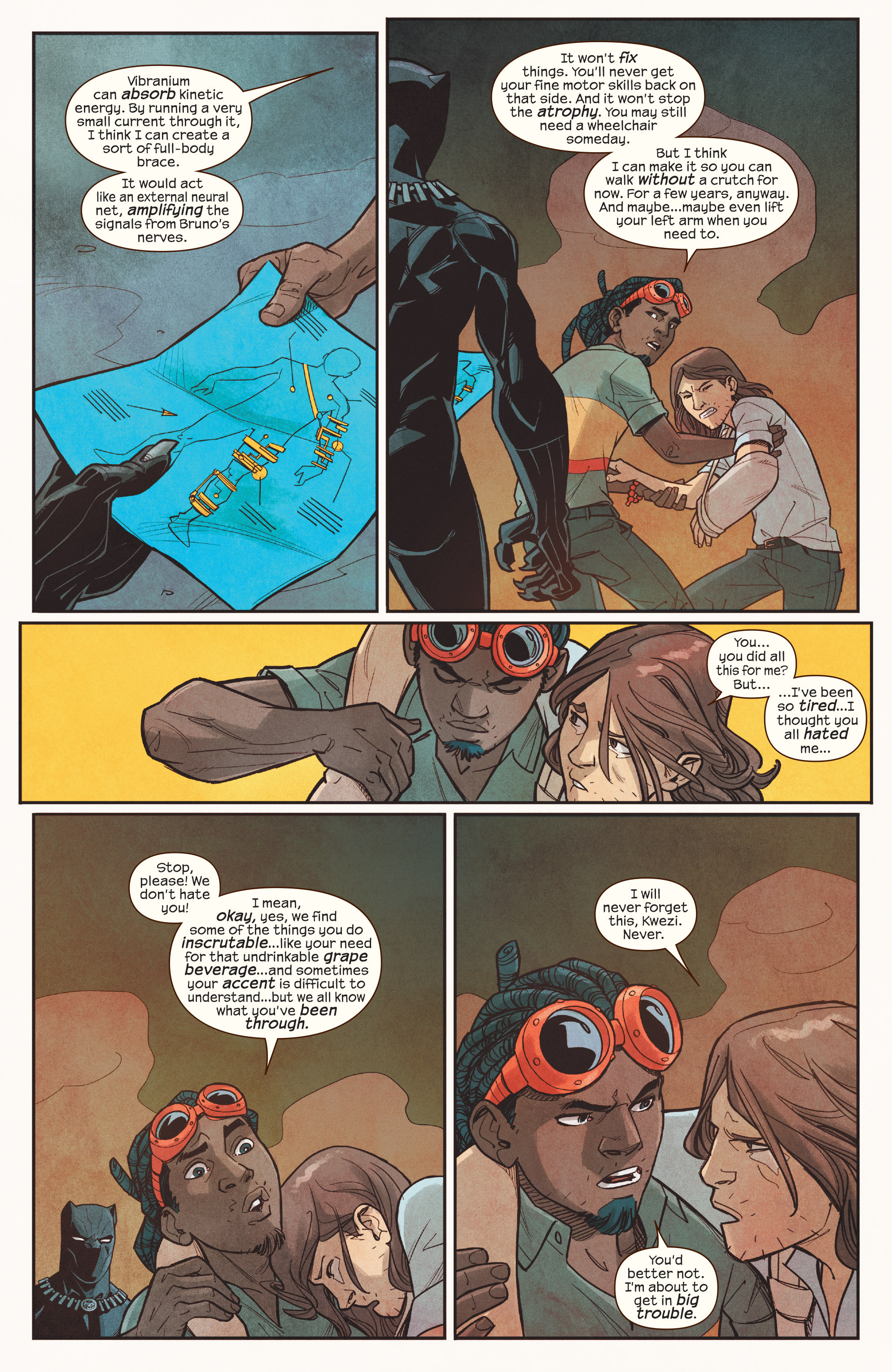 Read online Ms. Marvel (2016) comic -  Issue #18 - 21