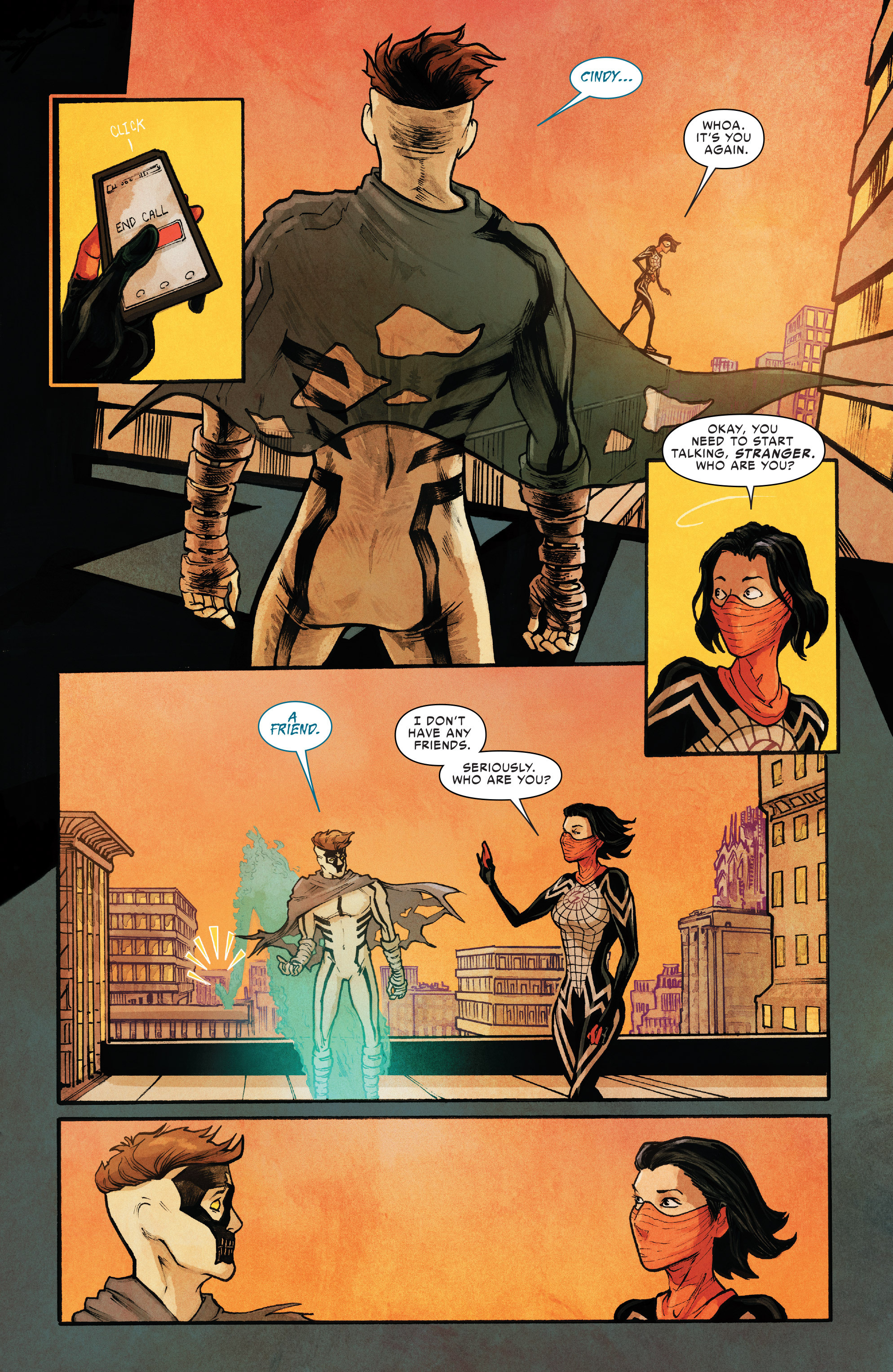 Read online Silk (2016) comic -  Issue #10 - 7
