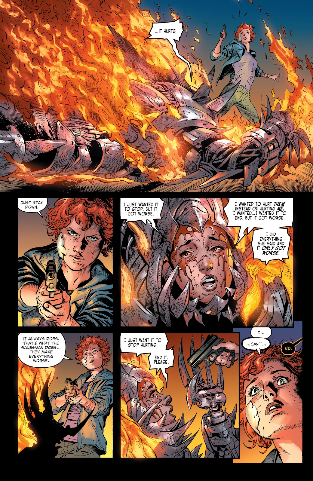 Read online The Curse of Brimstone: Ashes comic -  Issue # TPB (Part 2) - 25