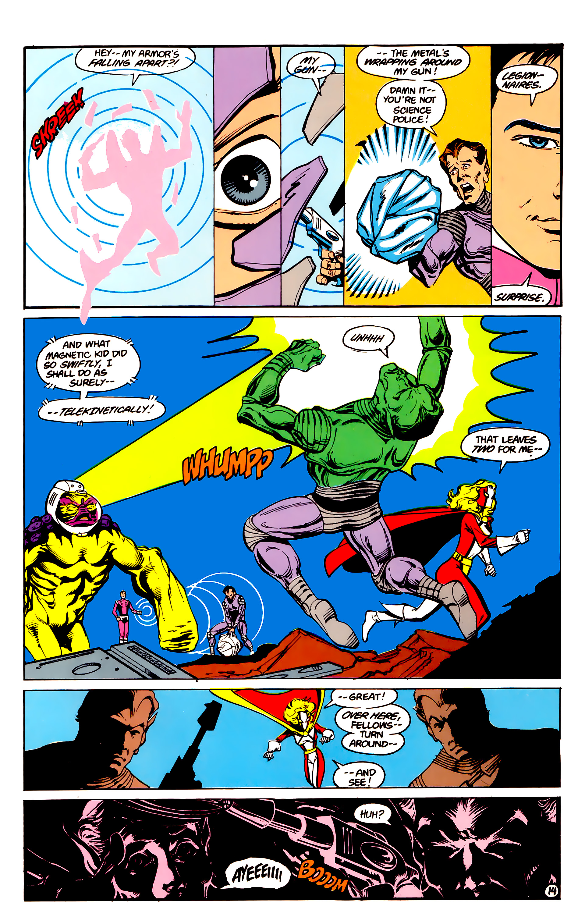 Legion of Super-Heroes (1984) 16 Page 15