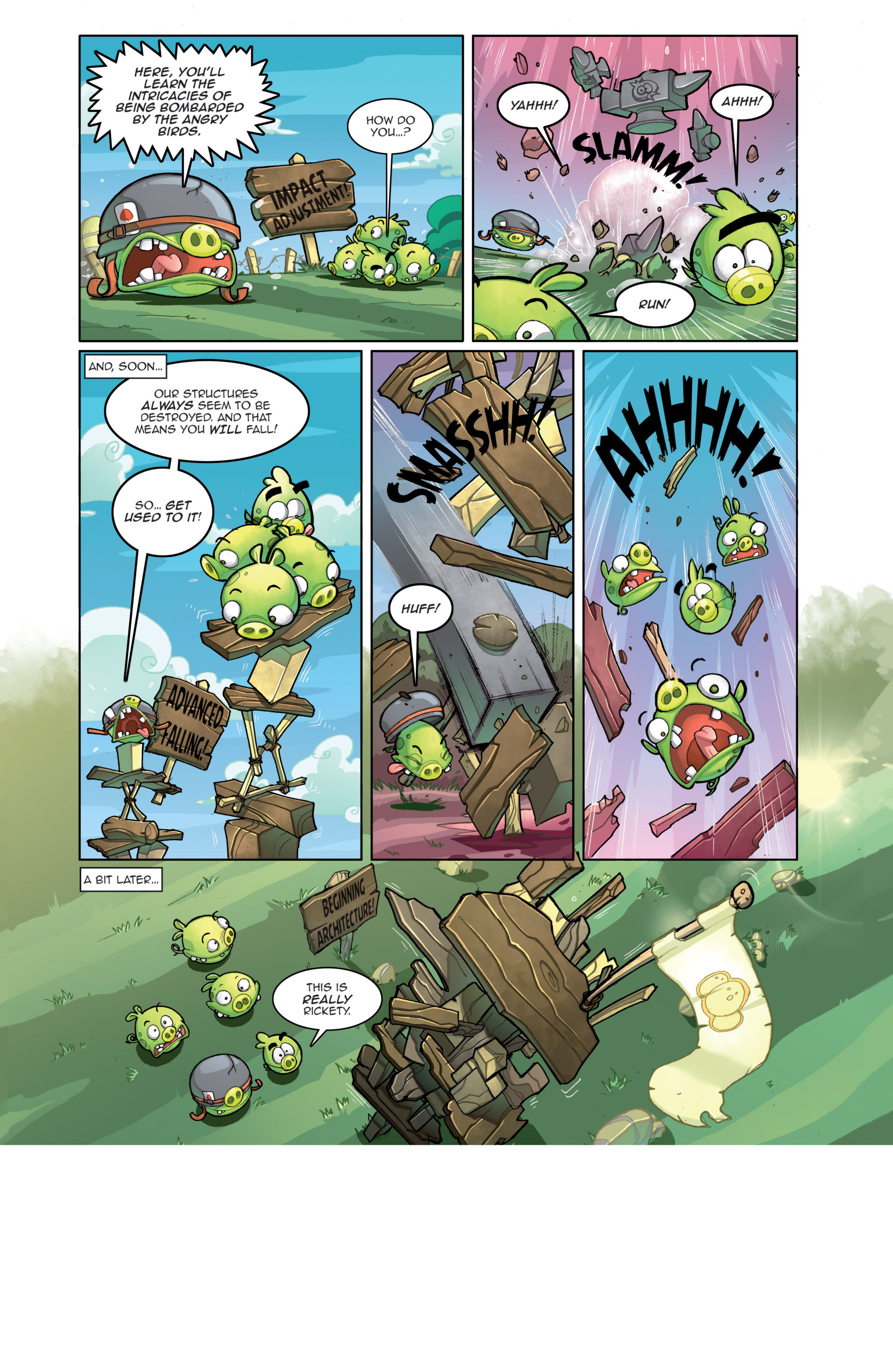 Read online Angry Birds Comics (2014) comic -  Issue #4 - 8