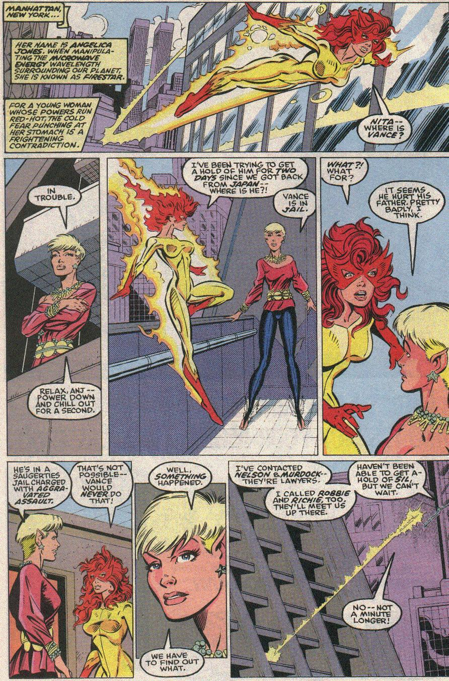 The New Warriors Issue #21 #25 - English 6