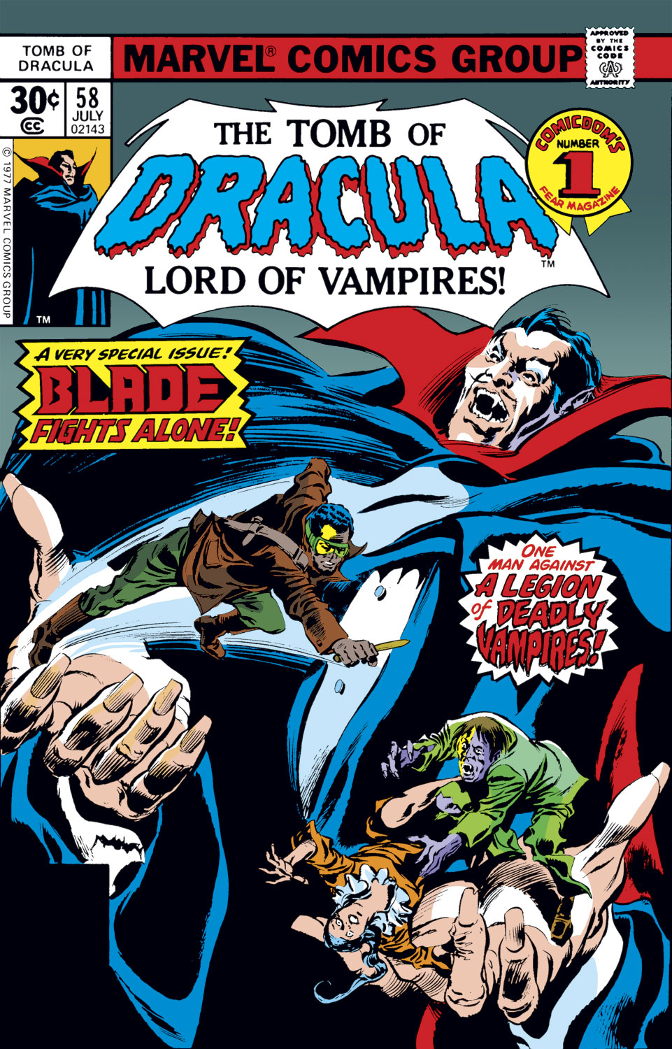 Tomb of Dracula (1972) issue 58 - Page 1
